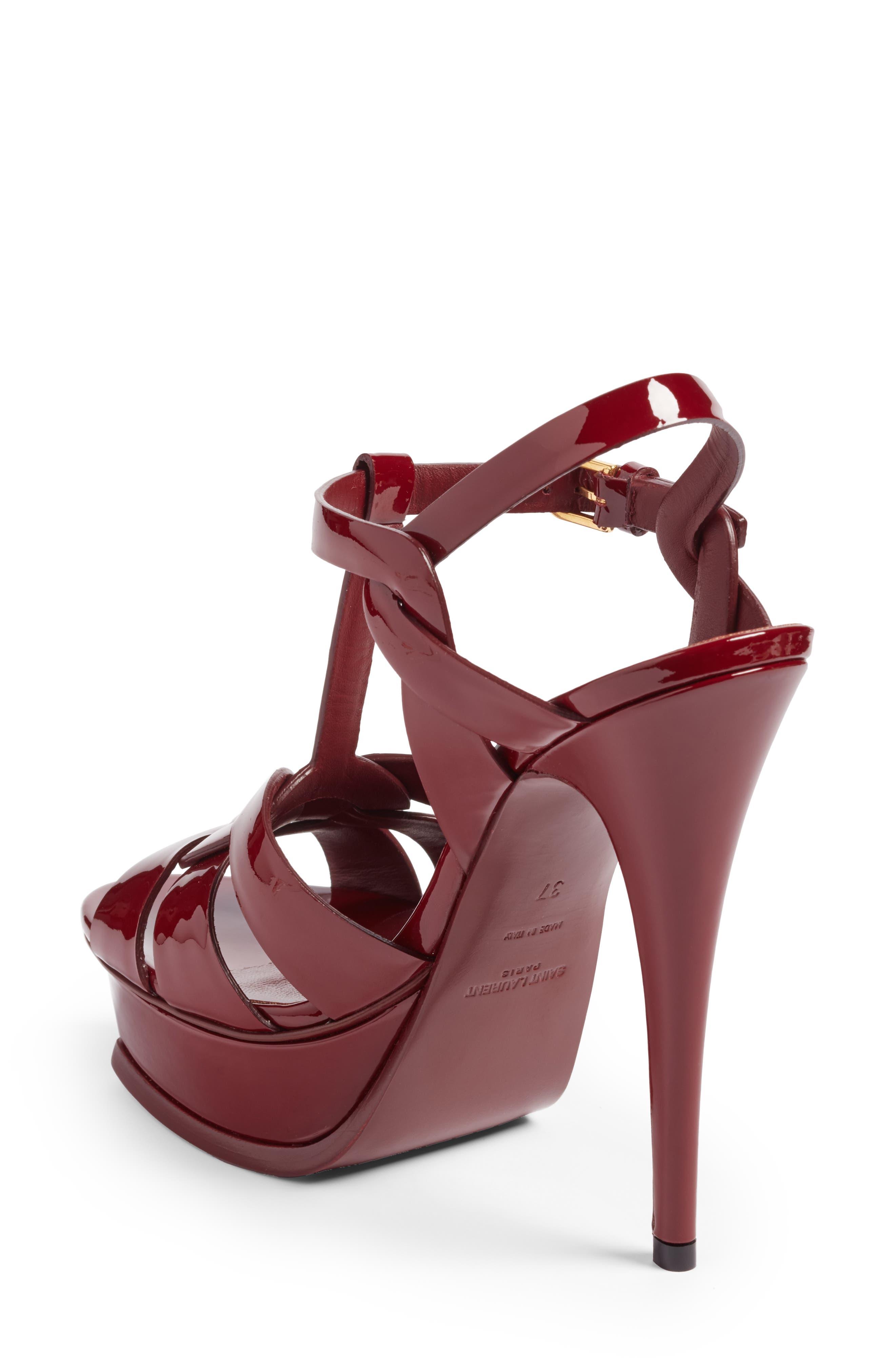 Alternate Image 2  - Saint Laurent Tribute T-Strap Platform Sandal (Women)
