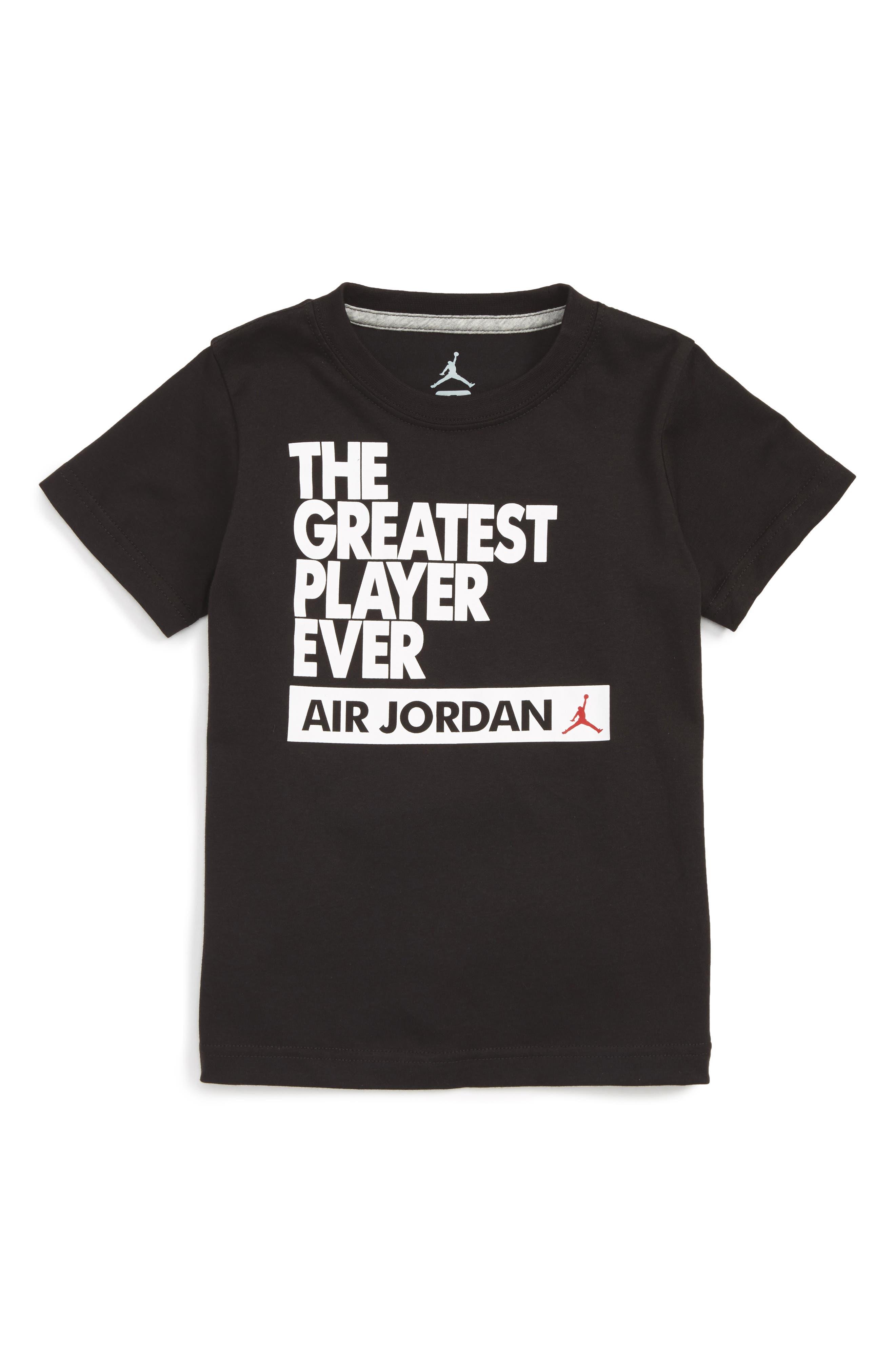 Jordan Greatest Player Ever Dri-FIT T-Shirt (Toddler Boys & Little Boys)