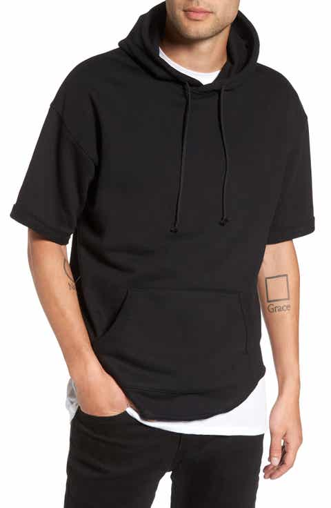 The Rail Zip Detail Short Sleeve Hoodie