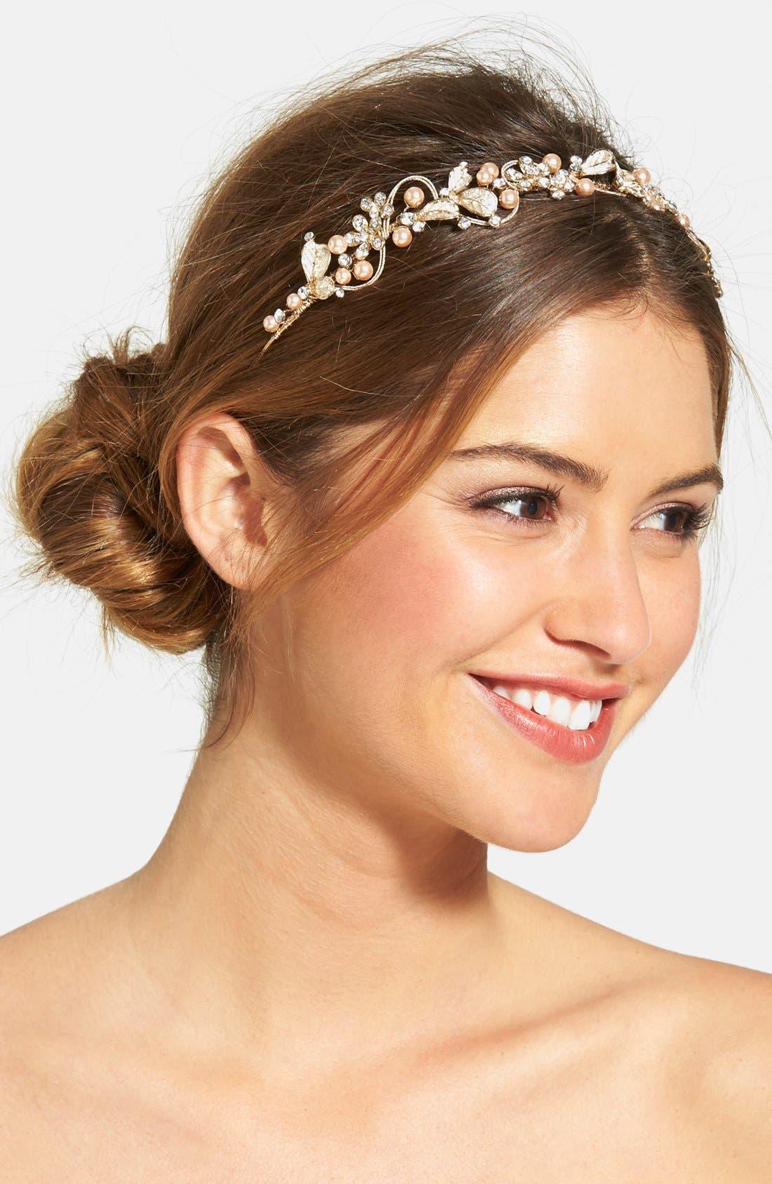 Wedding Belles New York Bead & Crystal Headband