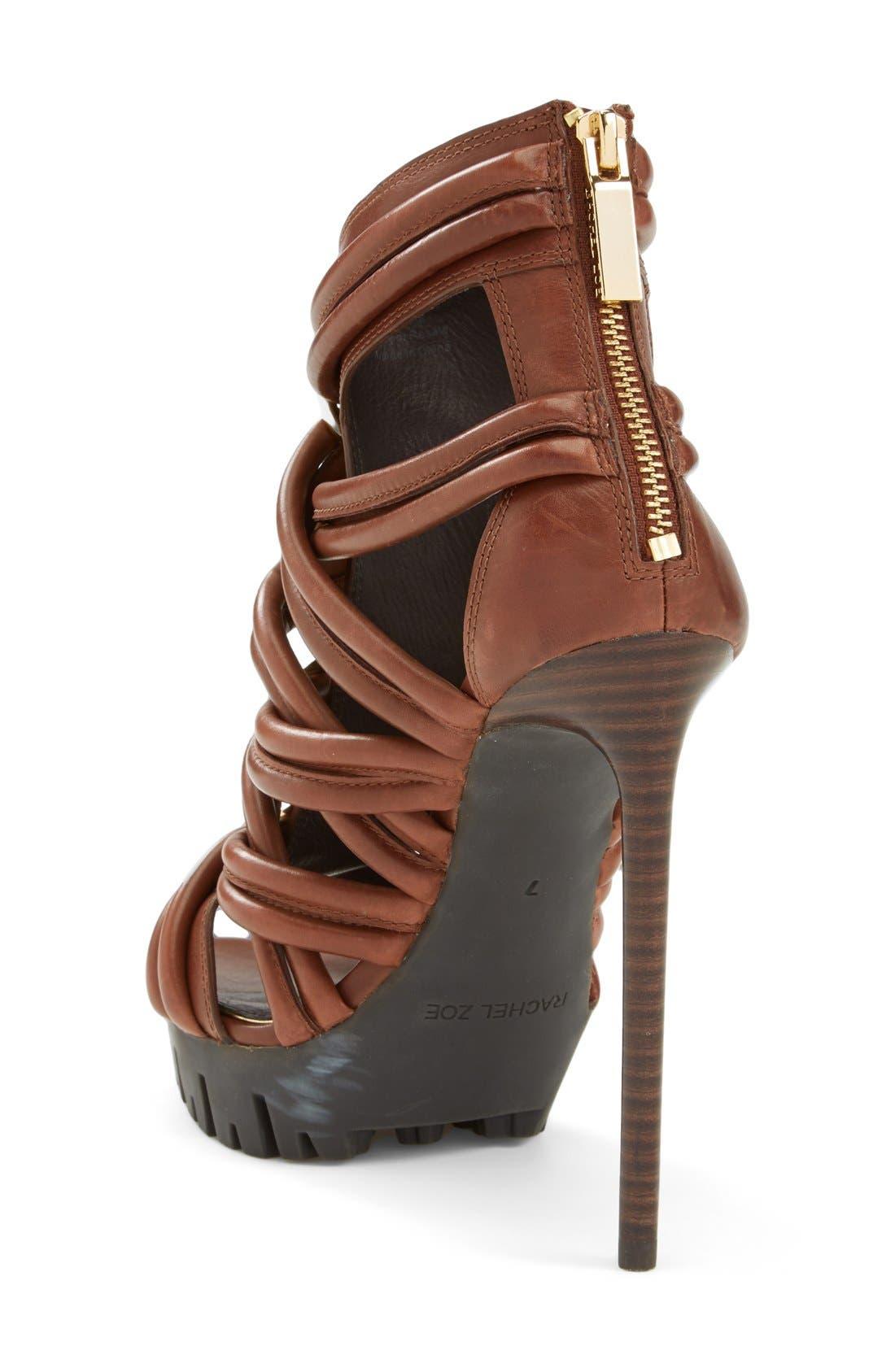 Alternate Image 2  - Rachel Zoe 'Harlin' Leather Sandal (Women)