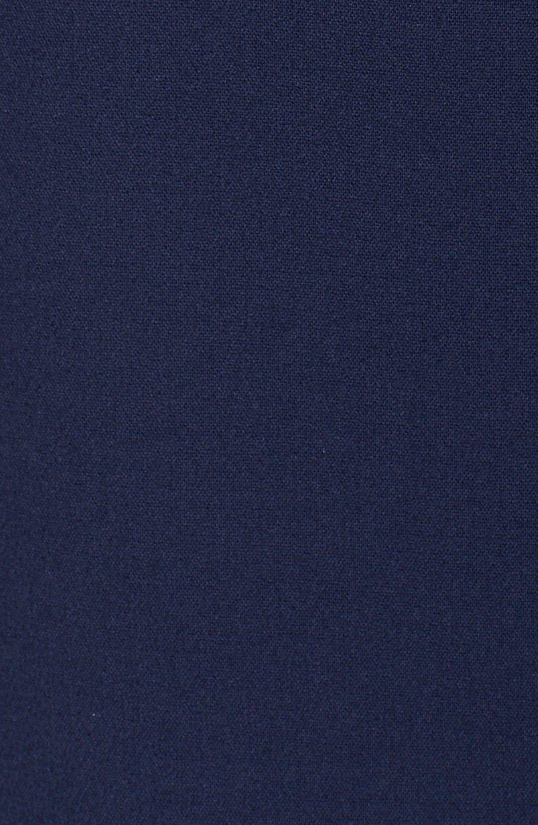 Alternate Image 4  - Eliza J Seamed Crepe Shift Dress