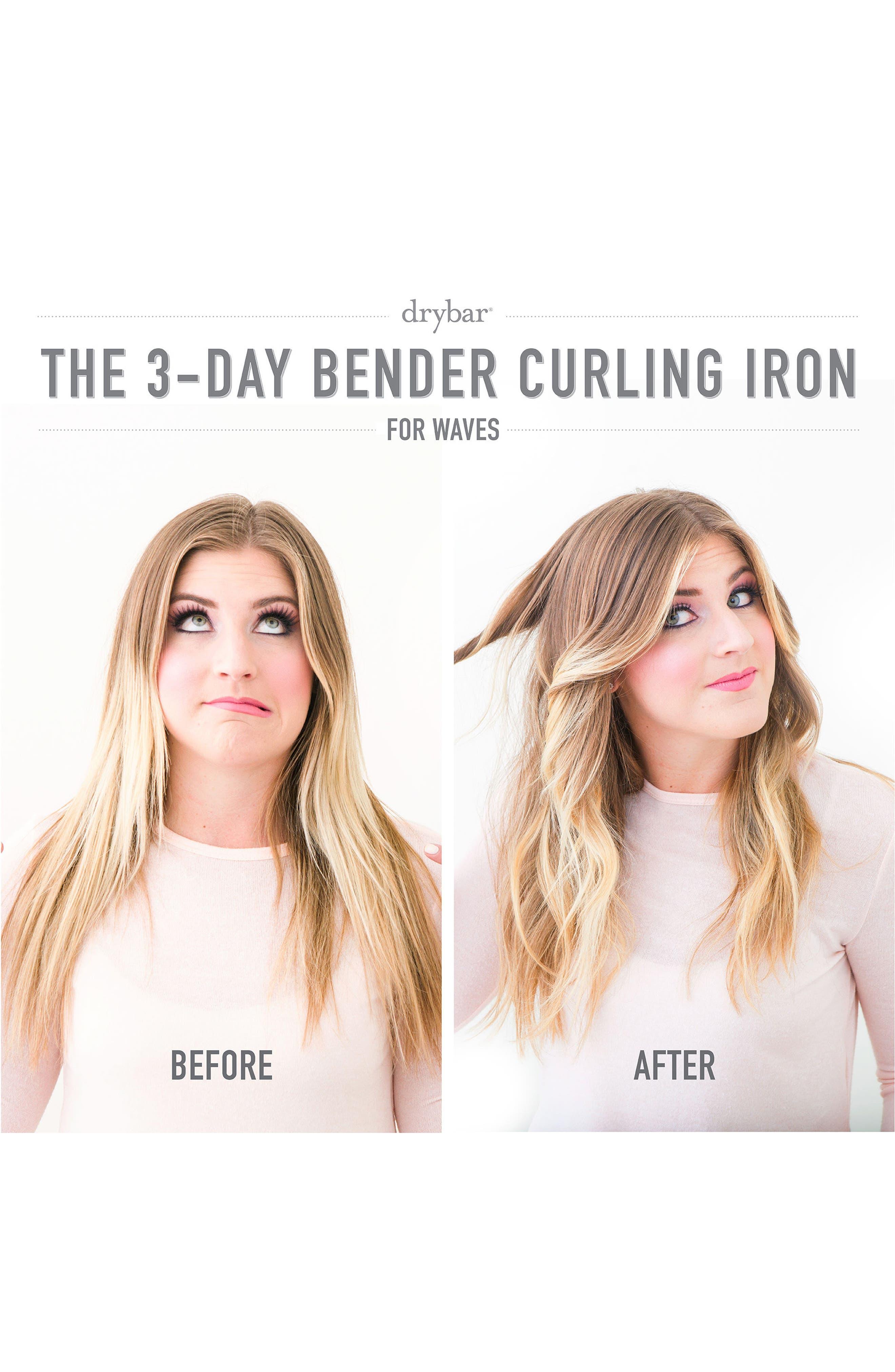 Alternate Image 2  - Drybar '3-Day Bender' Digital Curling Iron (1.25 Inch)