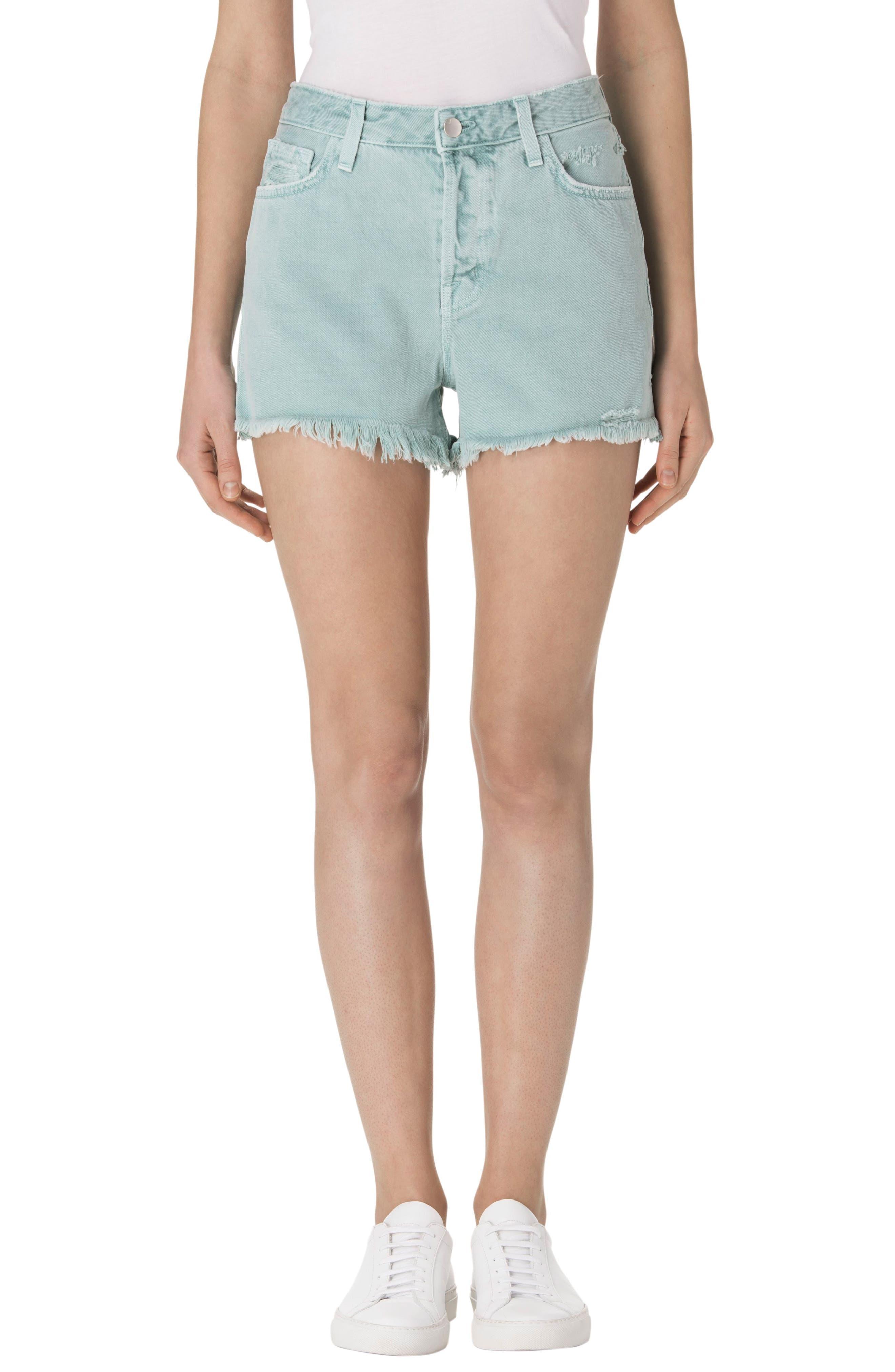 J Brand Gracie High Waist Cutoff Shorts