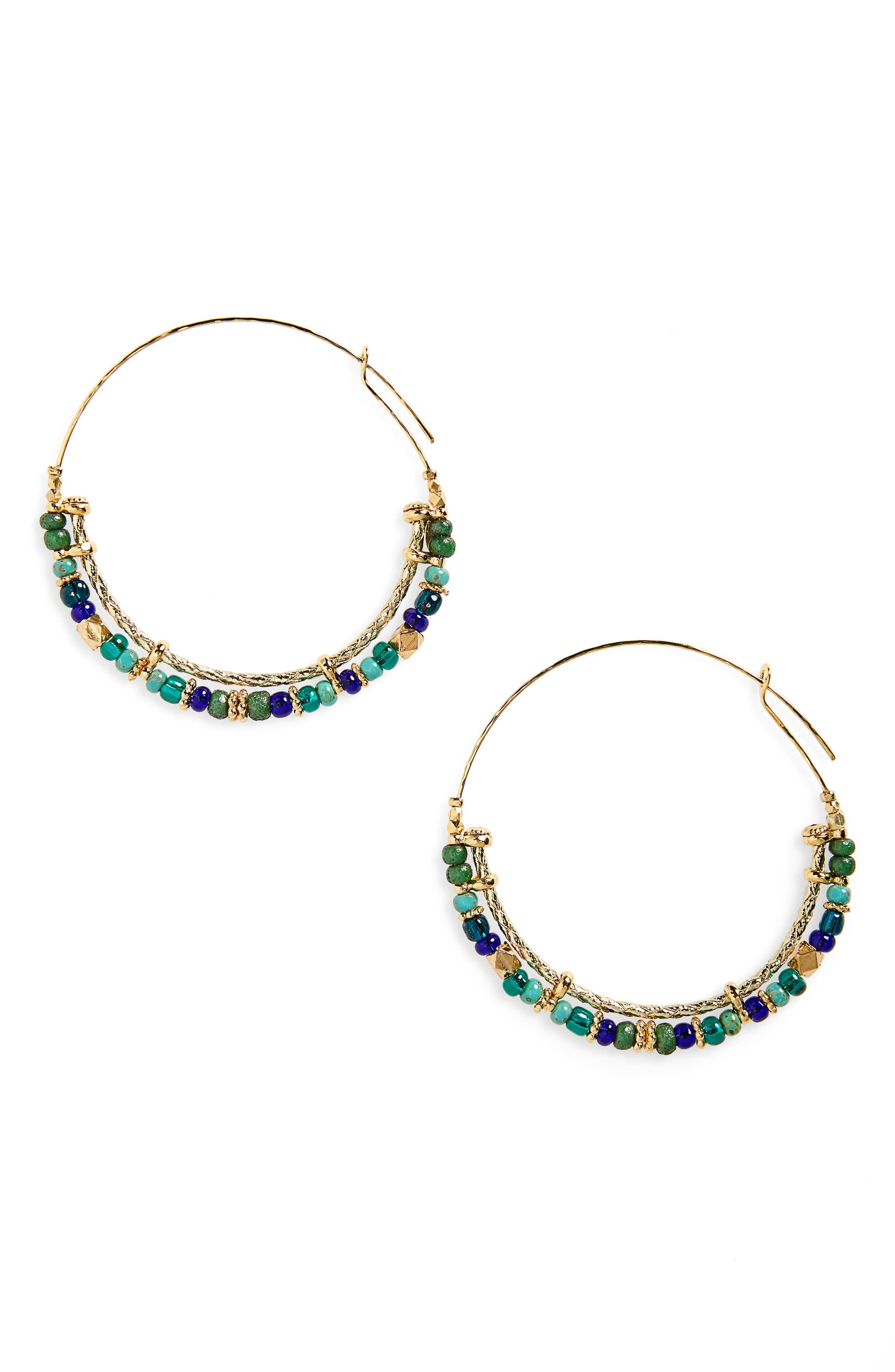 GAS BIJOUX Comedia Hoop Earrings