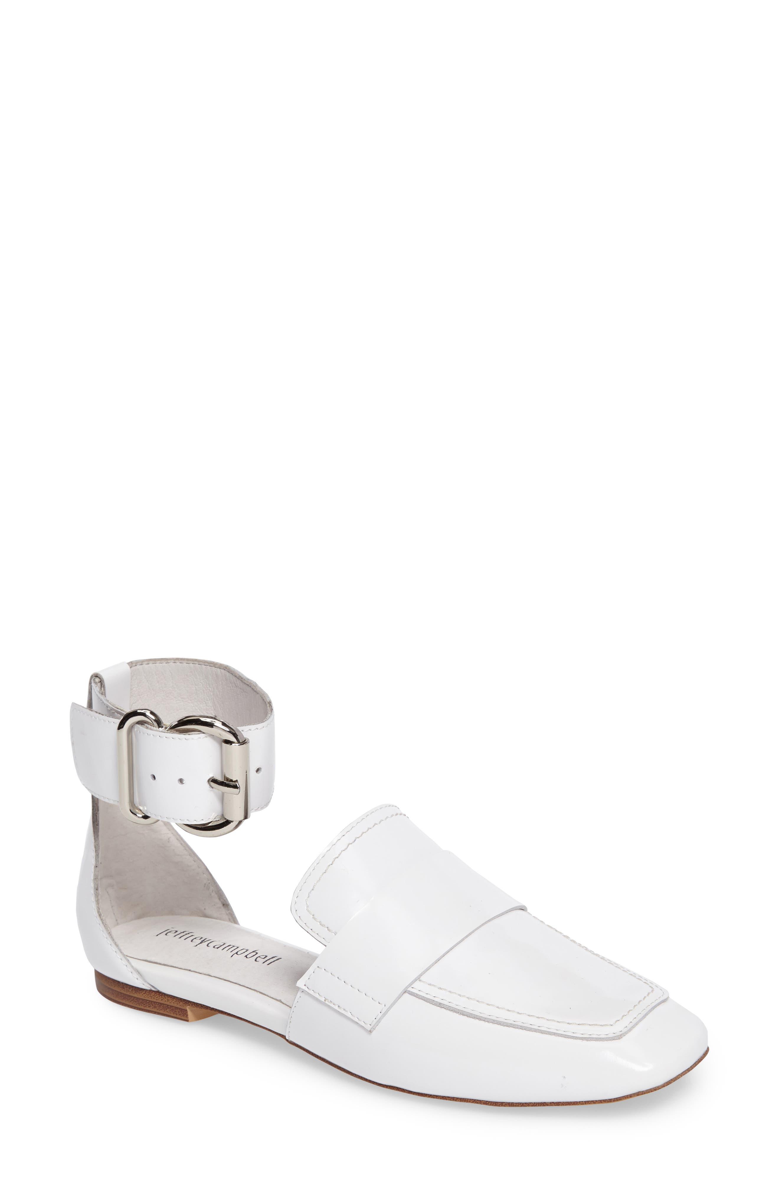 Jeffrey Campbell Meyler Cuffed Loafer Flat (Women)