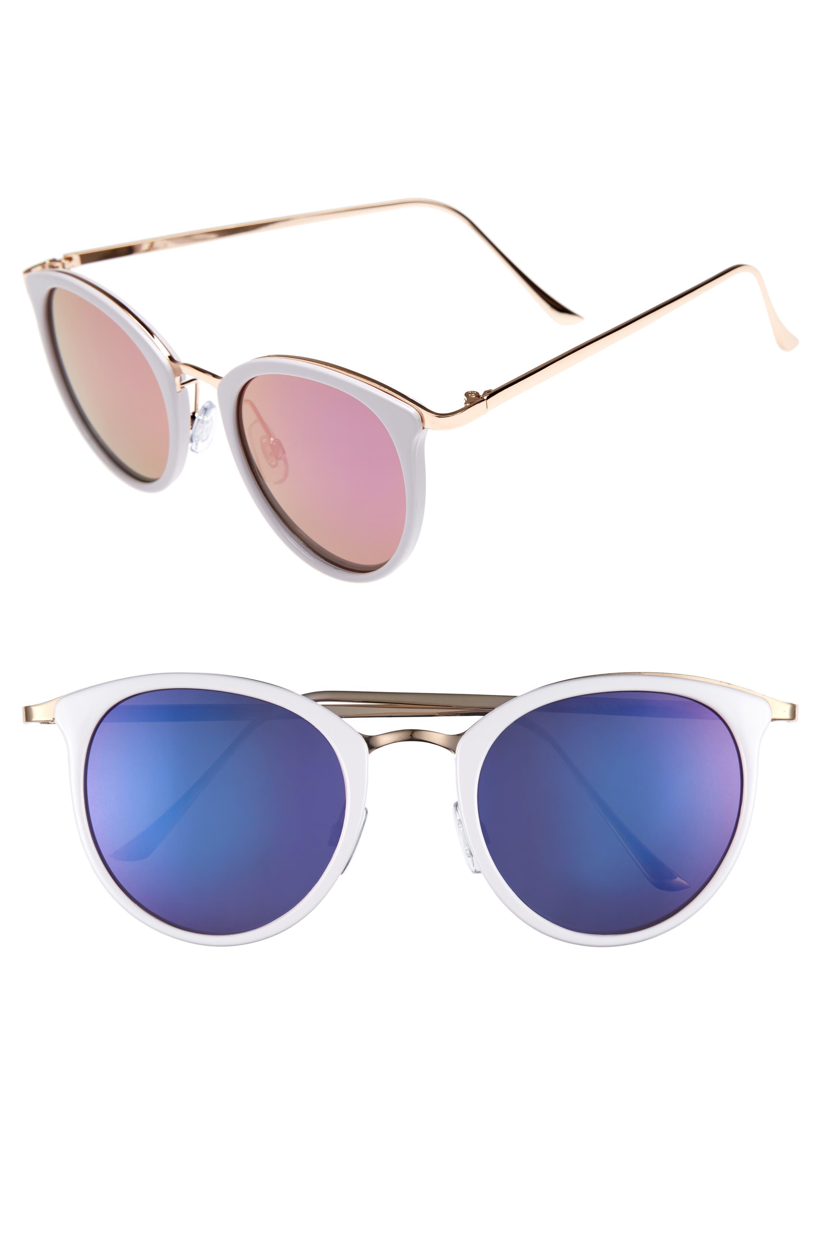 BP. 50mm Round Sunglasses