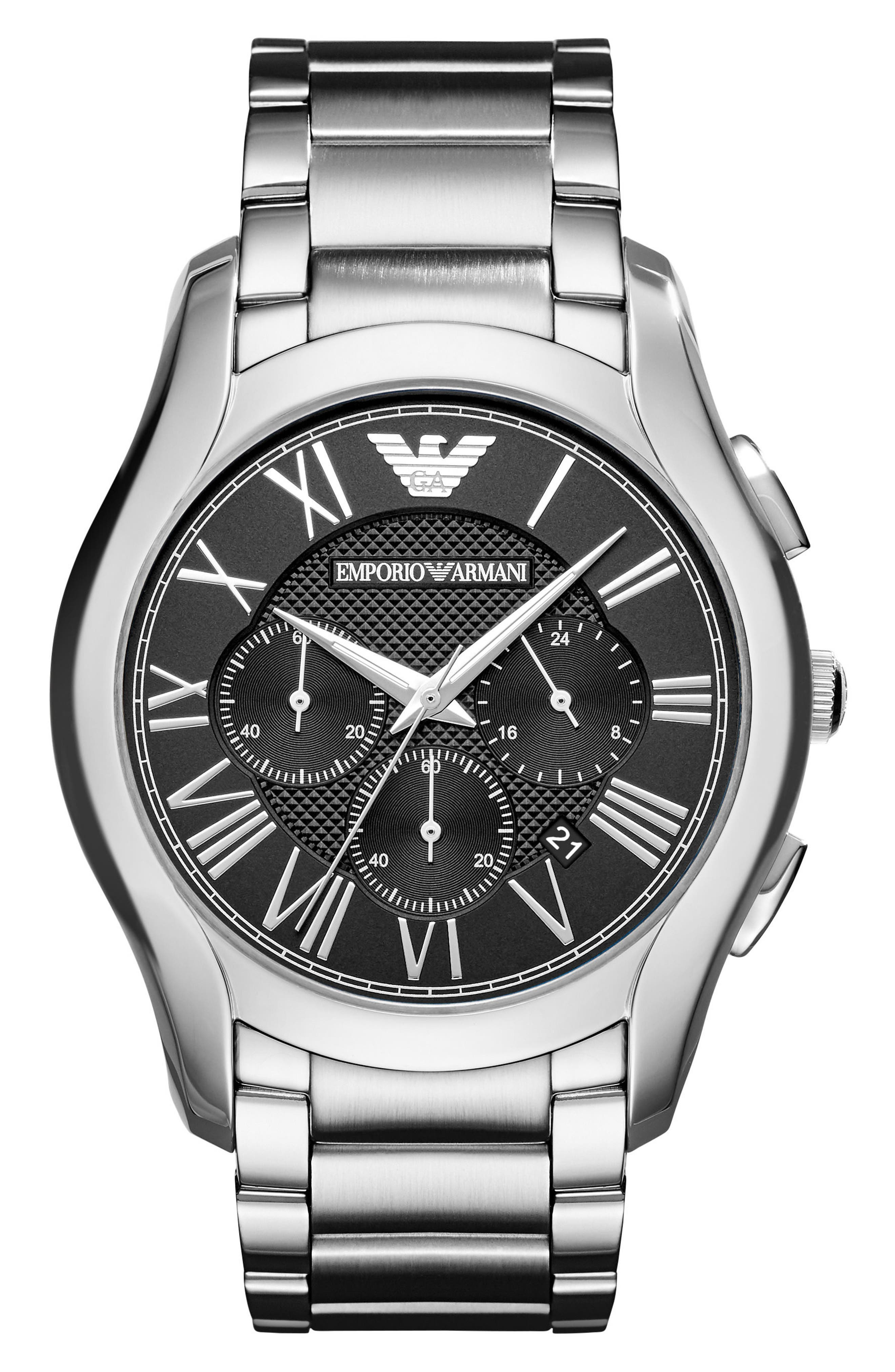 Emporio Armani Chronograph Bracelet Watch, 44.5mm