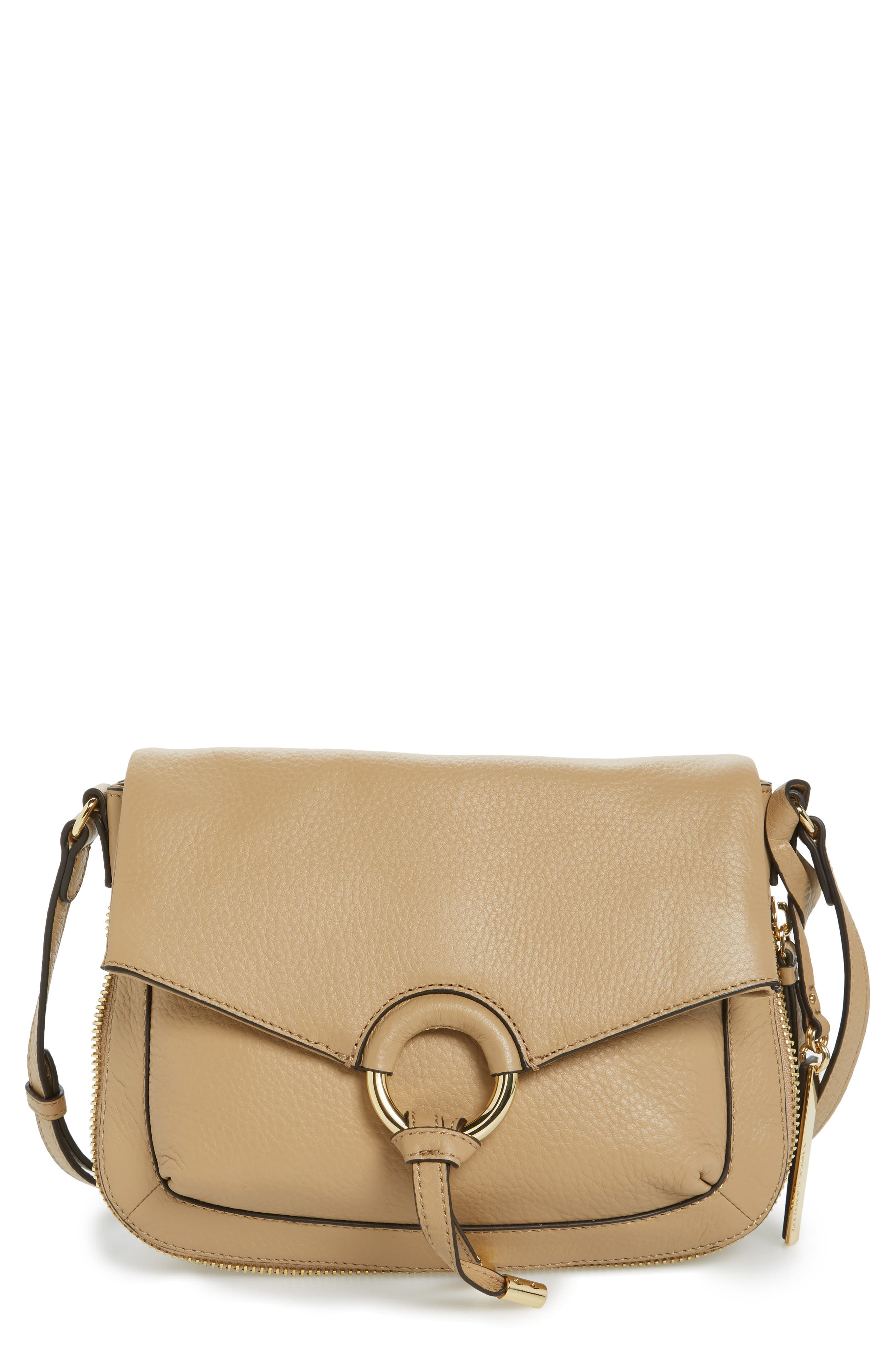 Vince Camuto Adina Leather Crossbody Bag