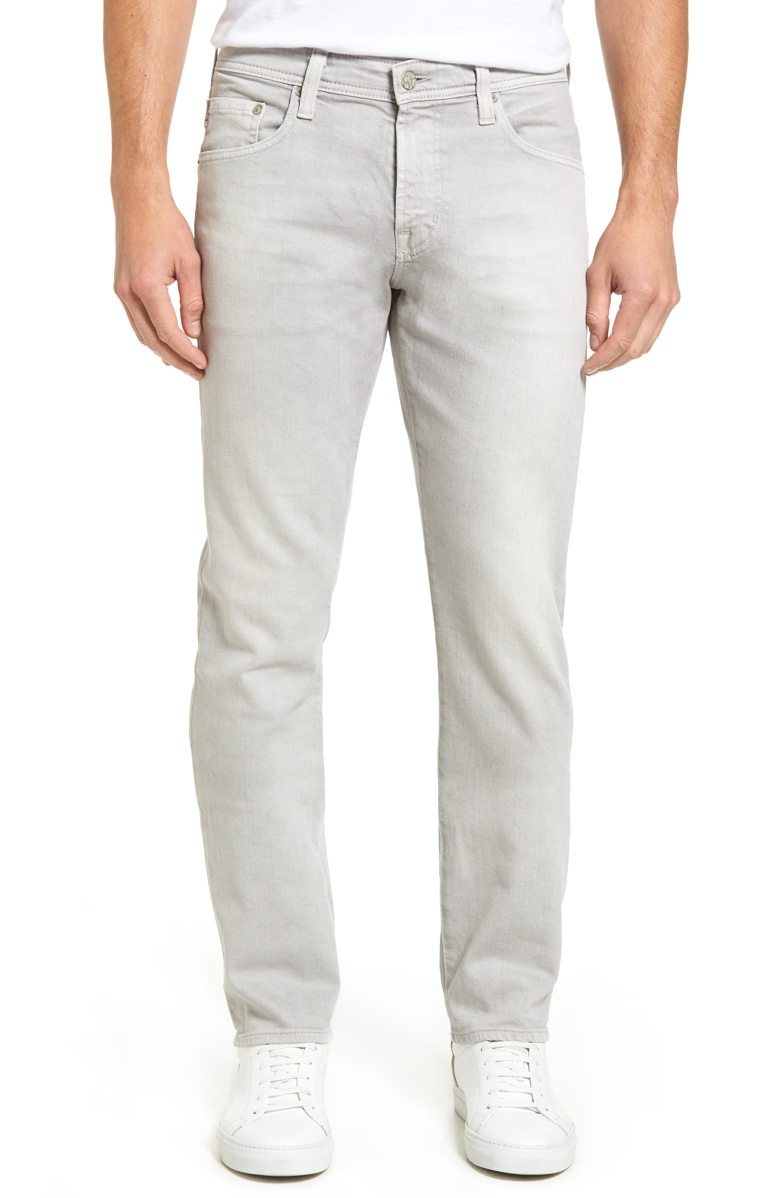 AG Matchbox Slim Fit Jeans (2 Years Dapple Grey)