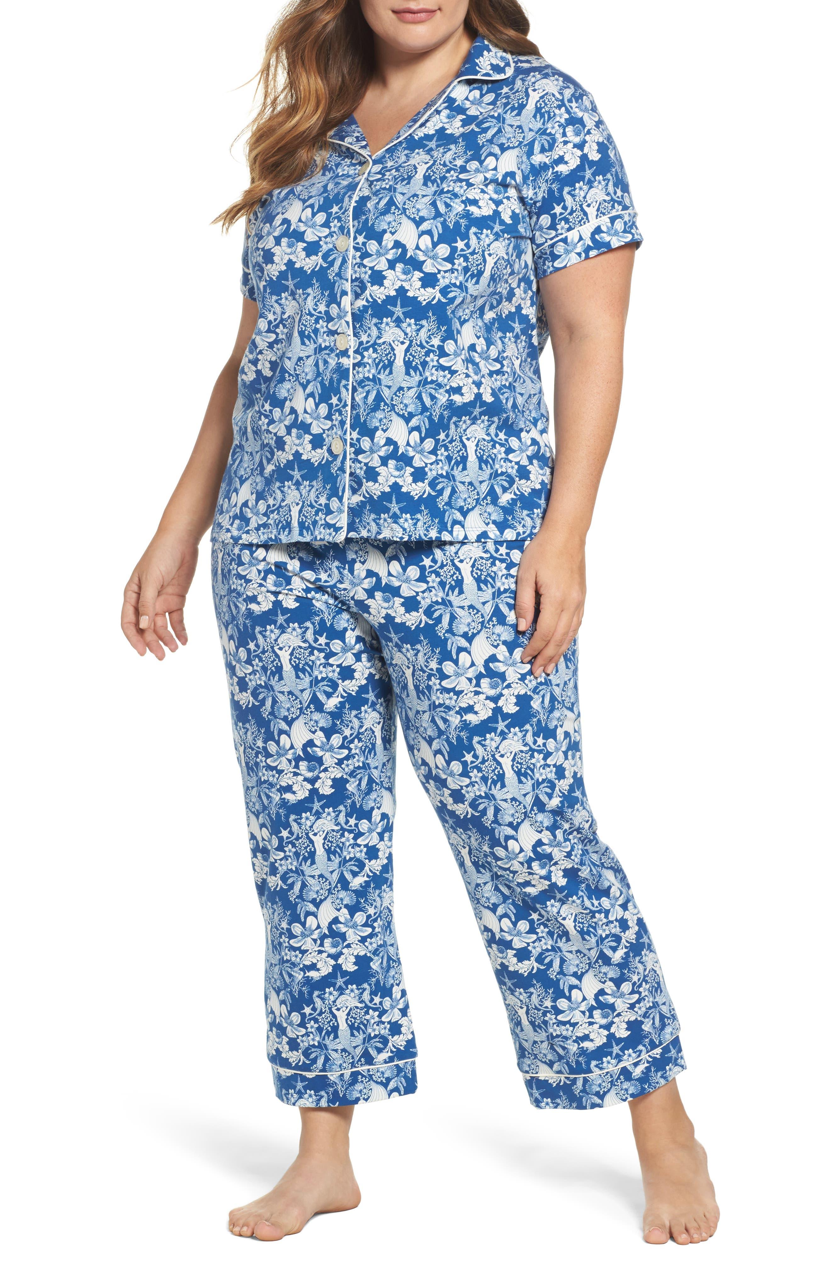 BedHead Crop Pajamas (Plus Size)