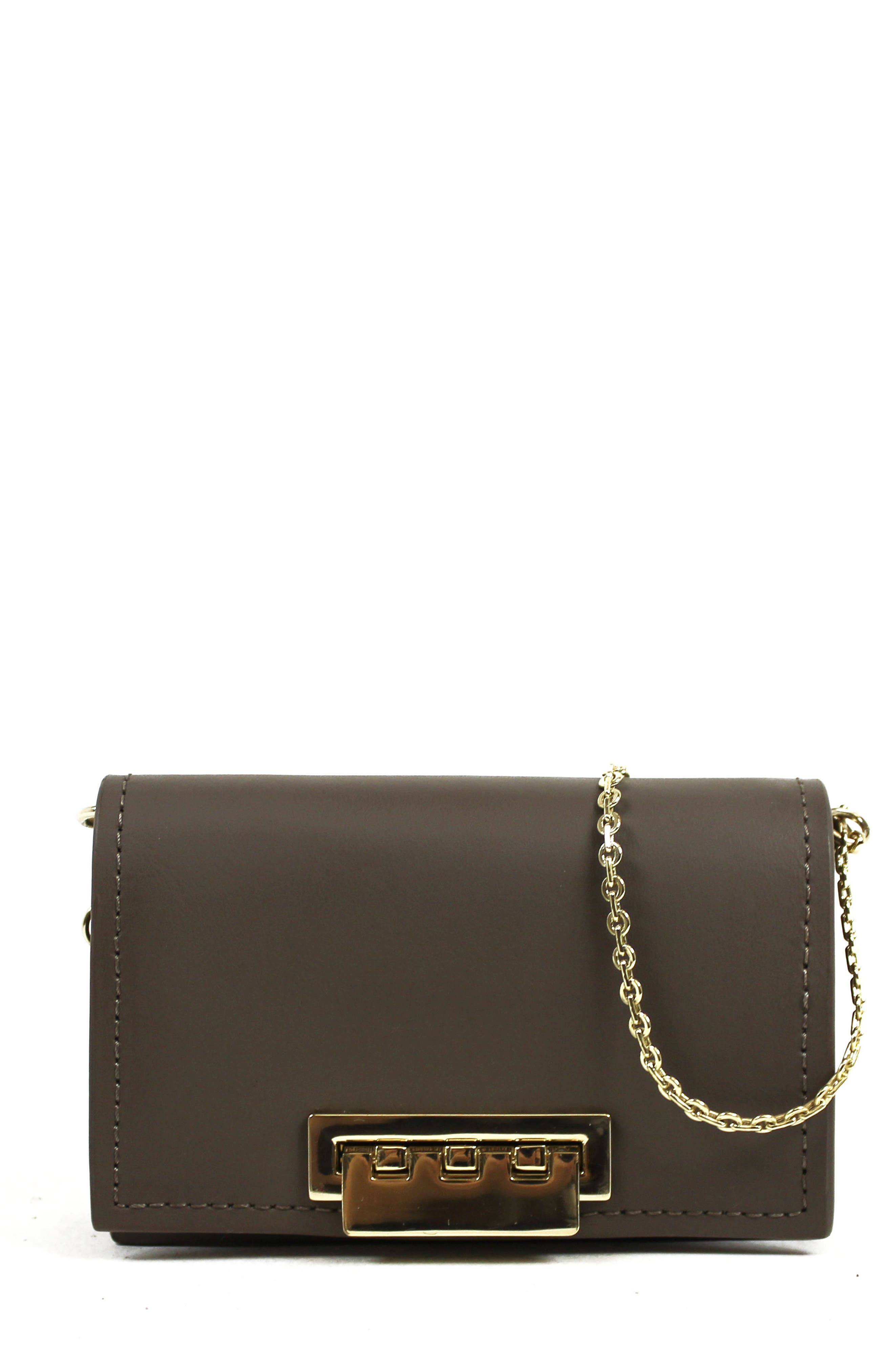 ZAC Zac Posen Earthette Leather Card Case