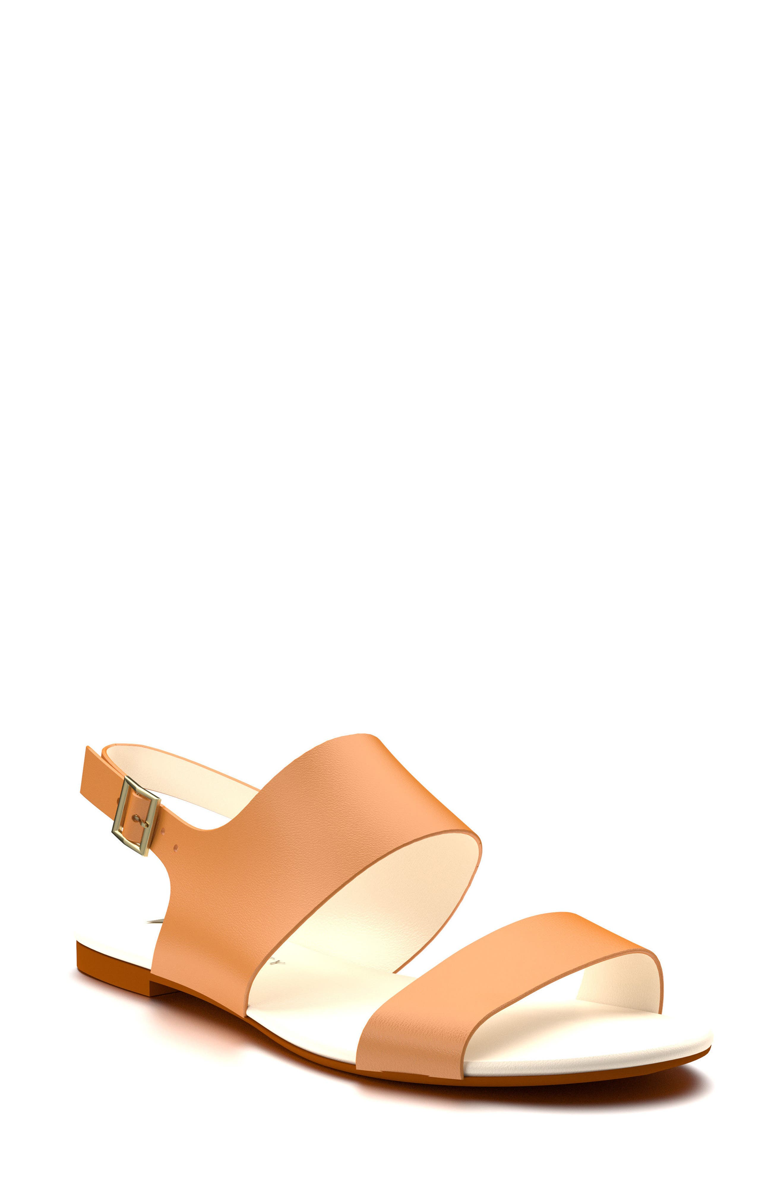 Shoes of Prey Slingback Flat Sandal (Women)