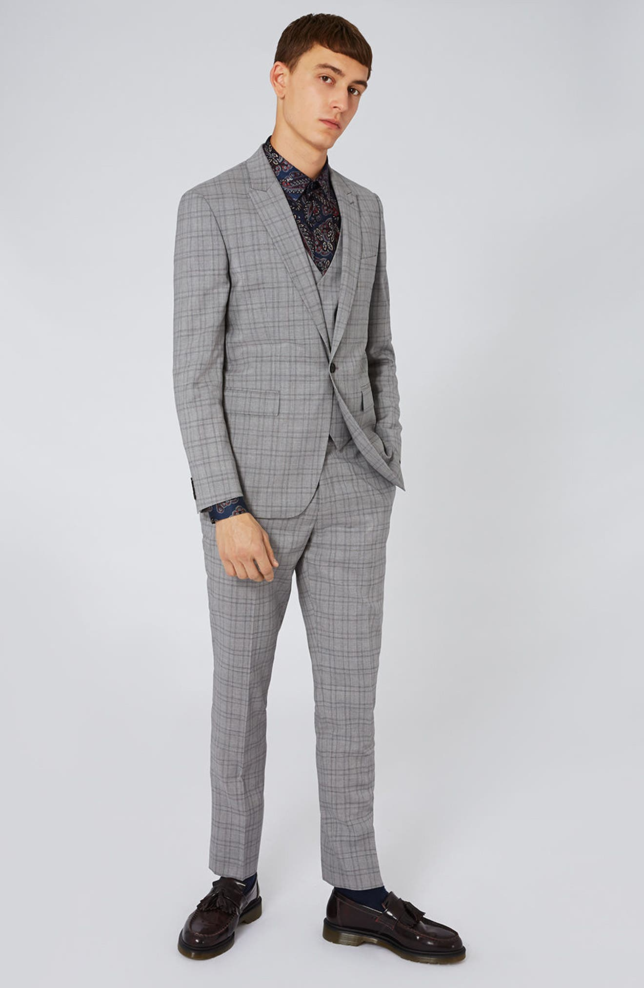 Charlie Casely-Hayford x Topman Skinny Fit Suit