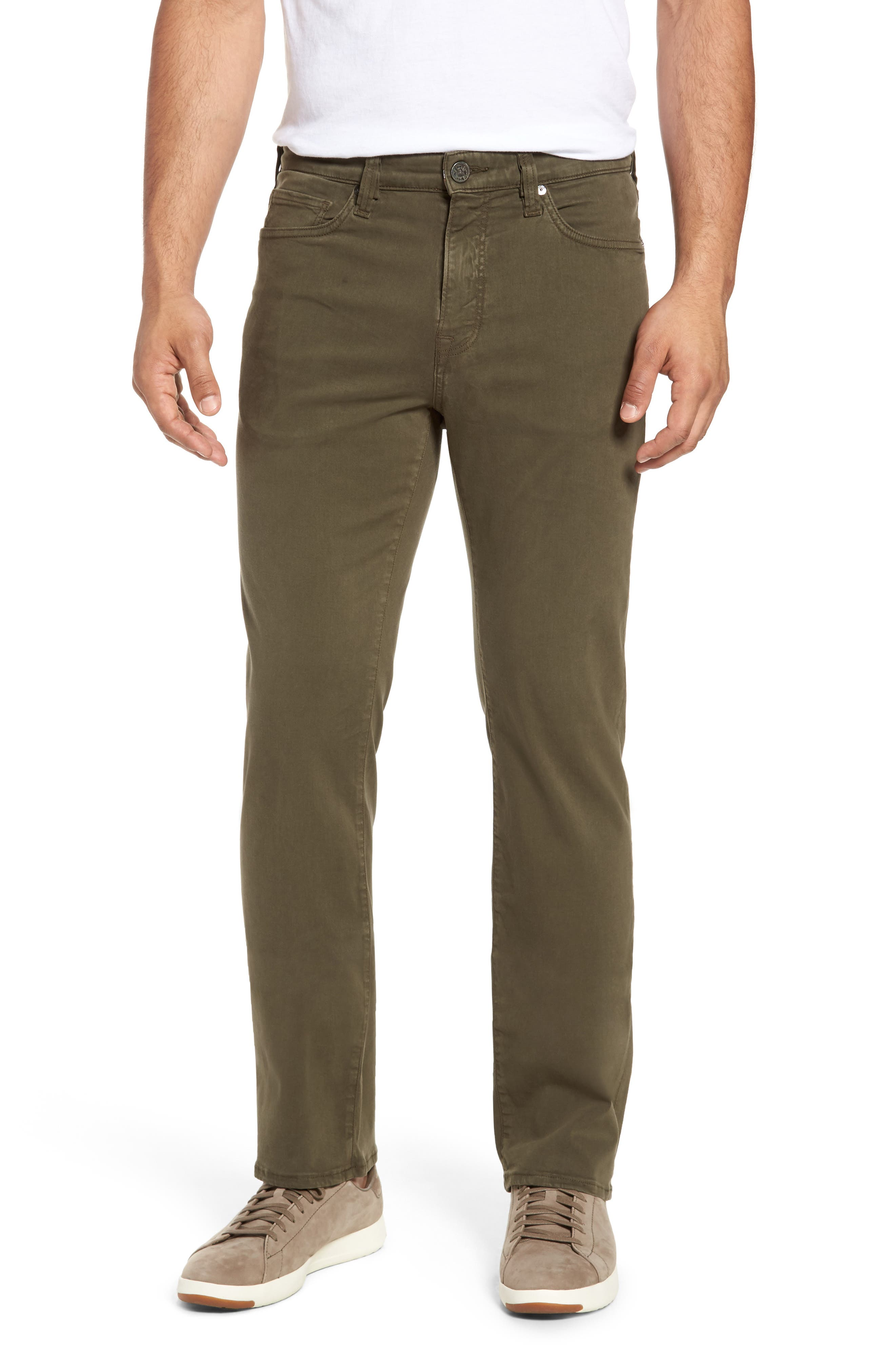 34 Heritage Charisma Relaxed Fit Pants (Olive Twill)