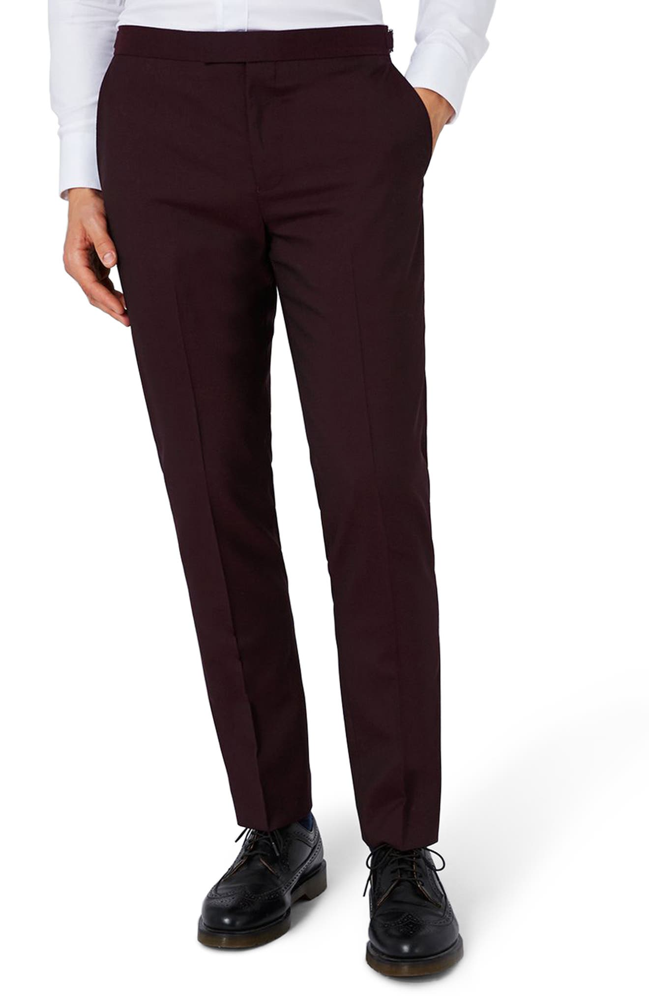 Charlie Casely-Hayford x Topman Skinny Fit Suit Trousers
