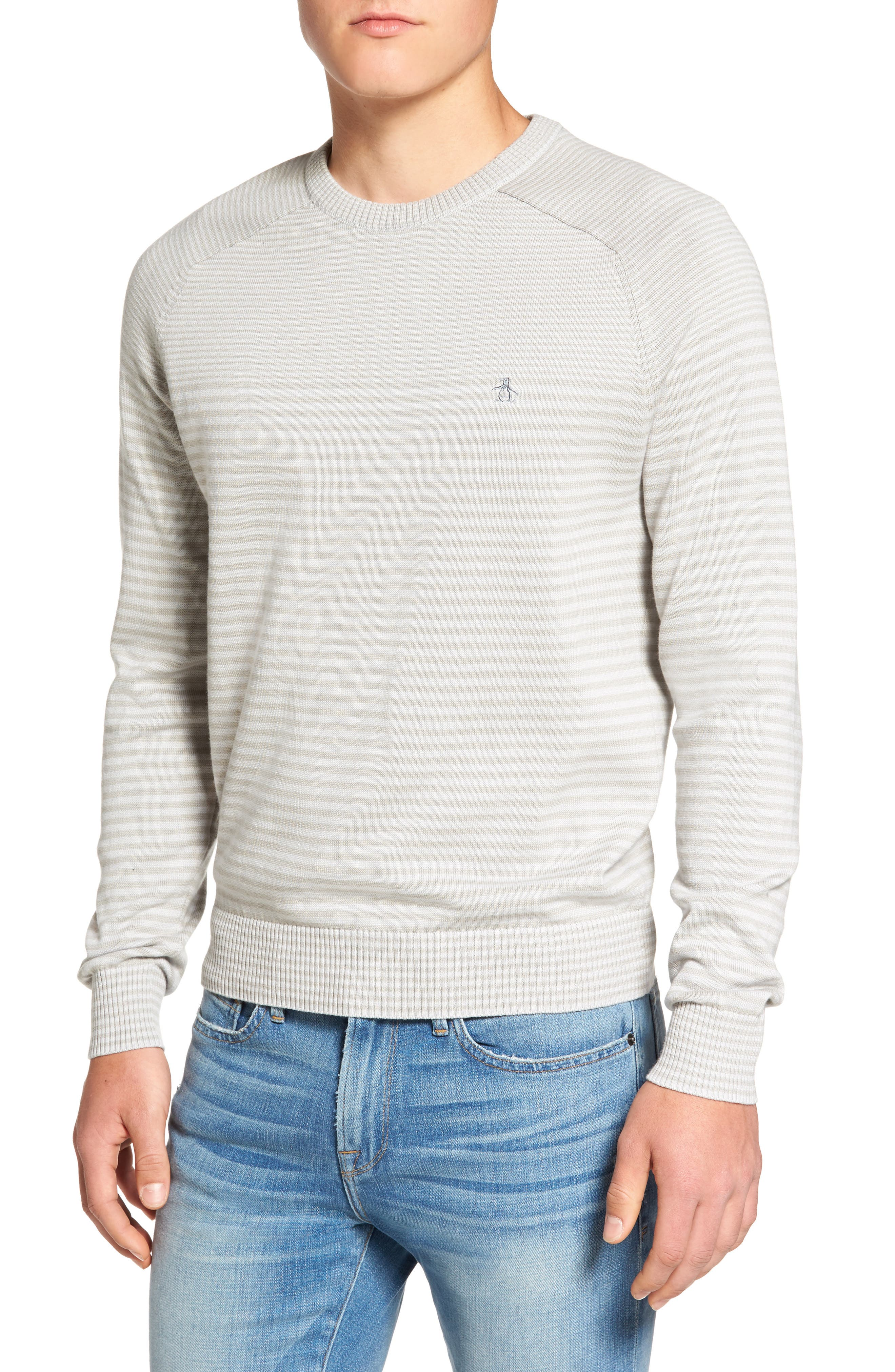 Original Penguin Engineered Stripe Sweater