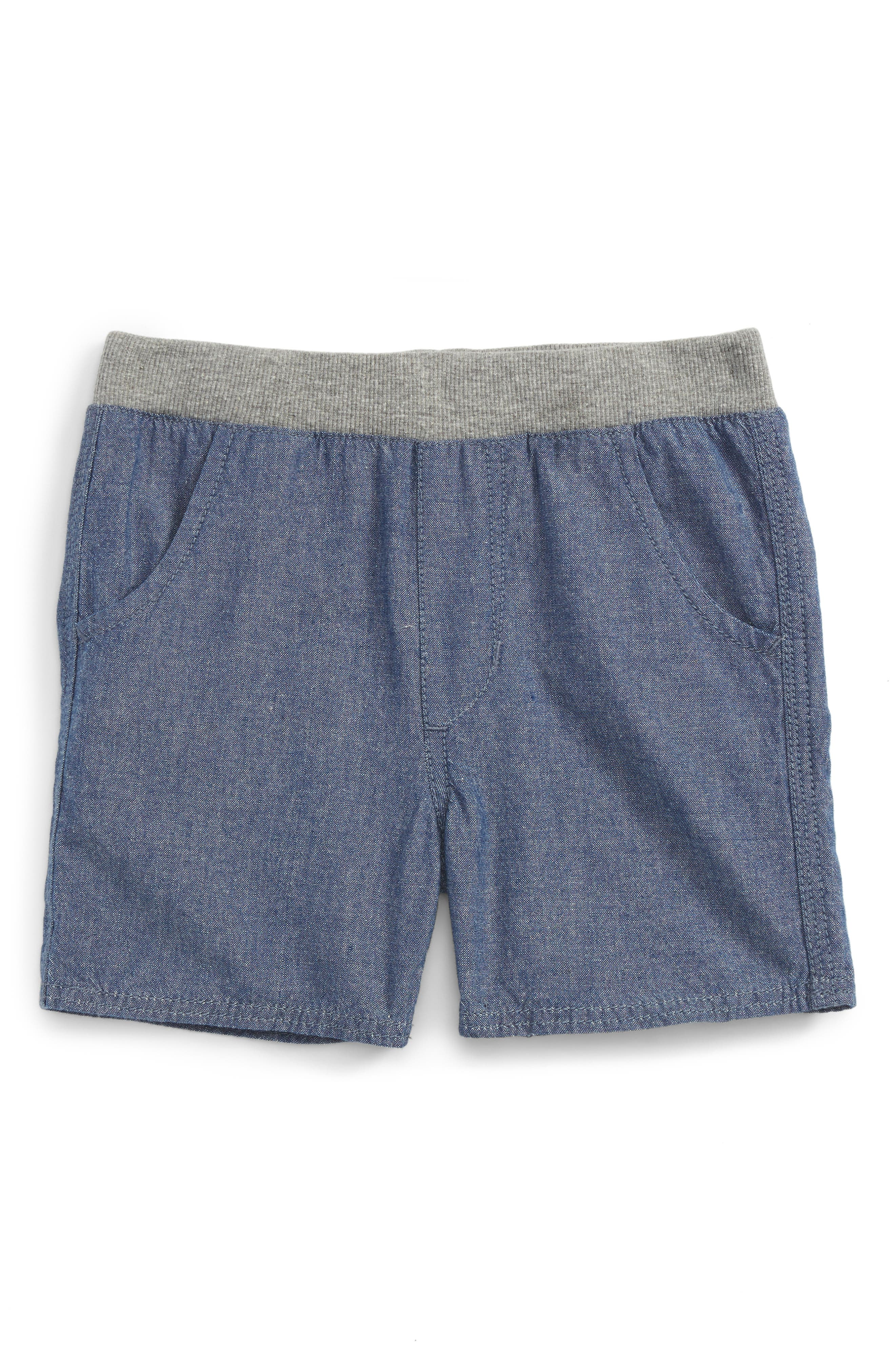 Peek Chambray Shorts (Baby Boys)