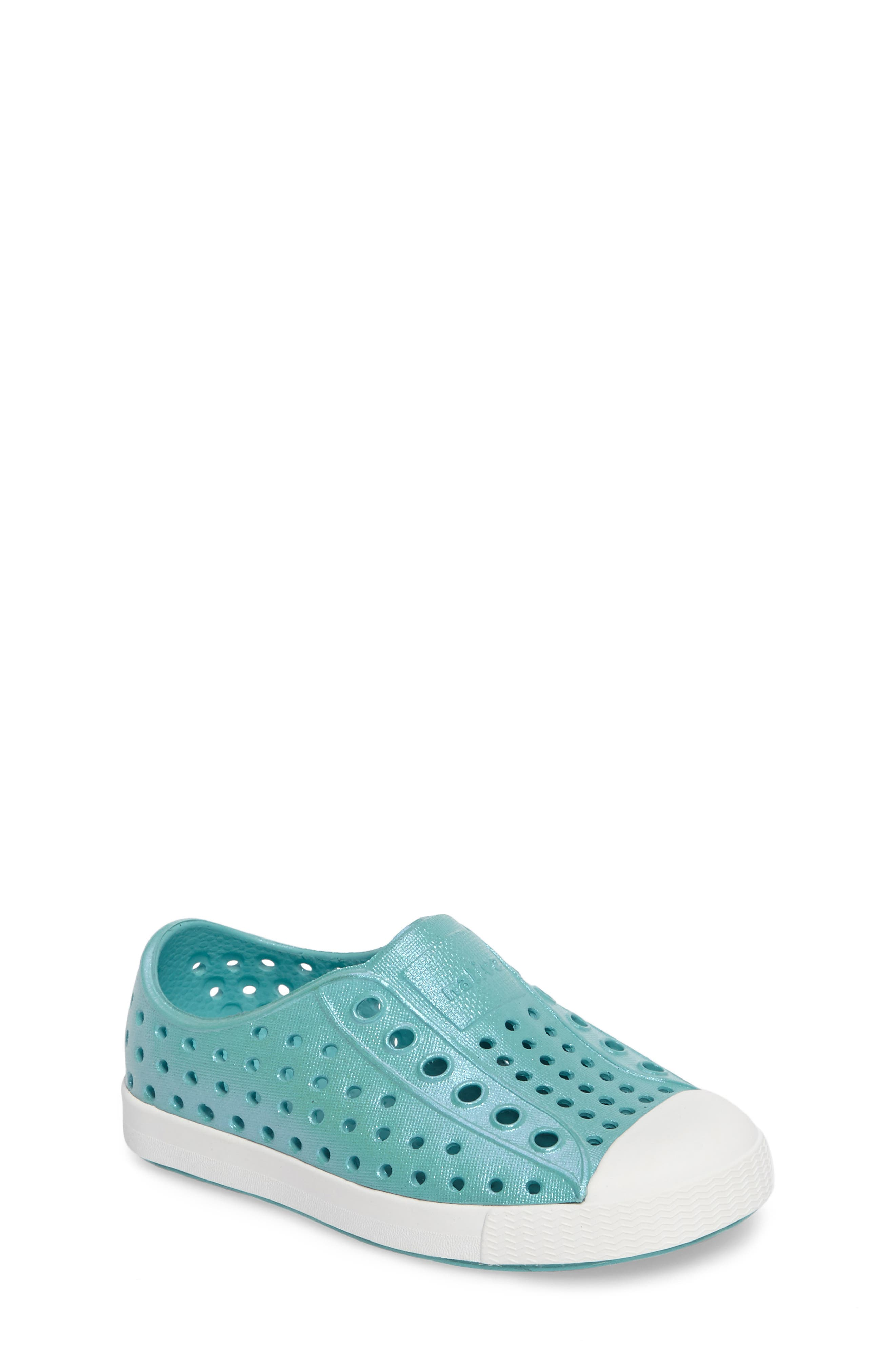 Native Shoes 'Jefferson' Iridescent Slip-On Sneaker (Baby, Walker, Toddler & Little Kid)