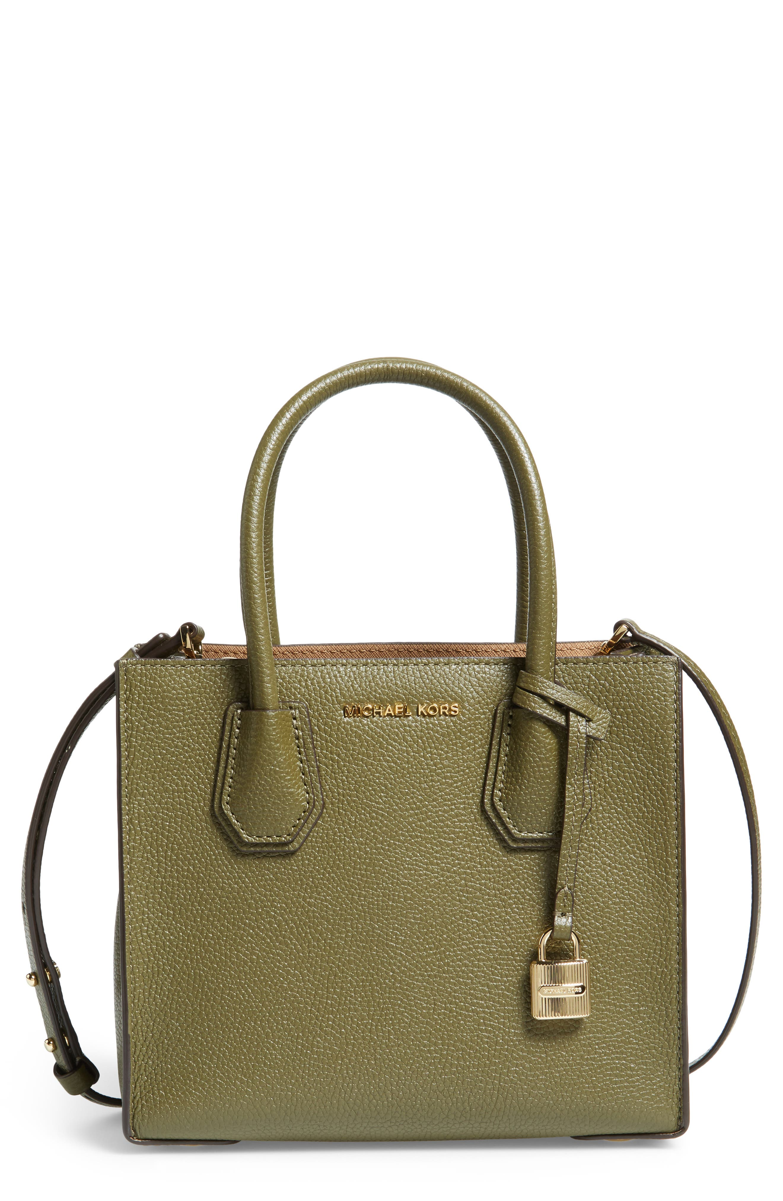MICHAEL Michael Kors Mercer Leather Crossbody Bag
