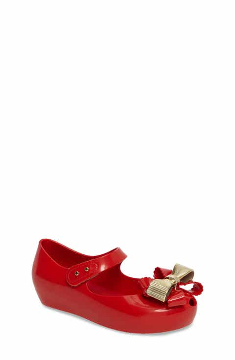 Mini Melissa Ultragirl Sweet IV Mary Jane Flat (Walker   Toddler)