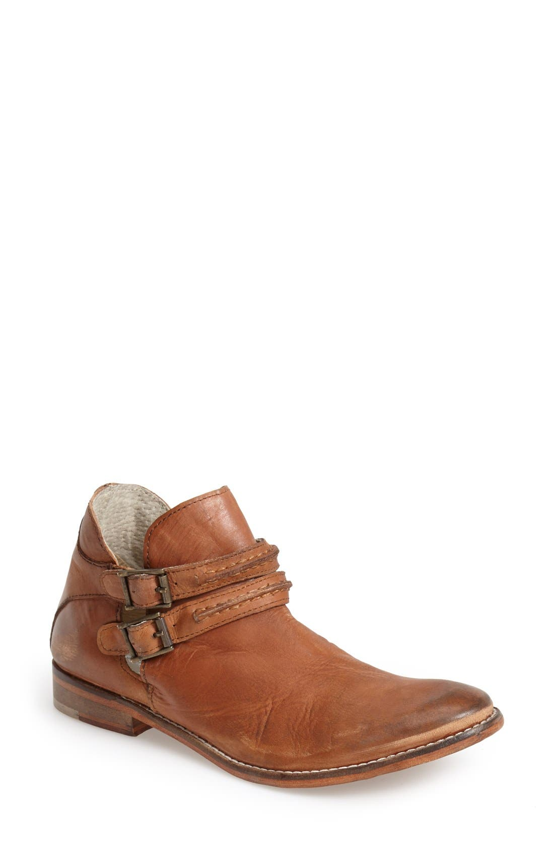 Alternate Image 1 Selected - Free People 'Braeburn' Belted Split Shaft Bootie (Women)