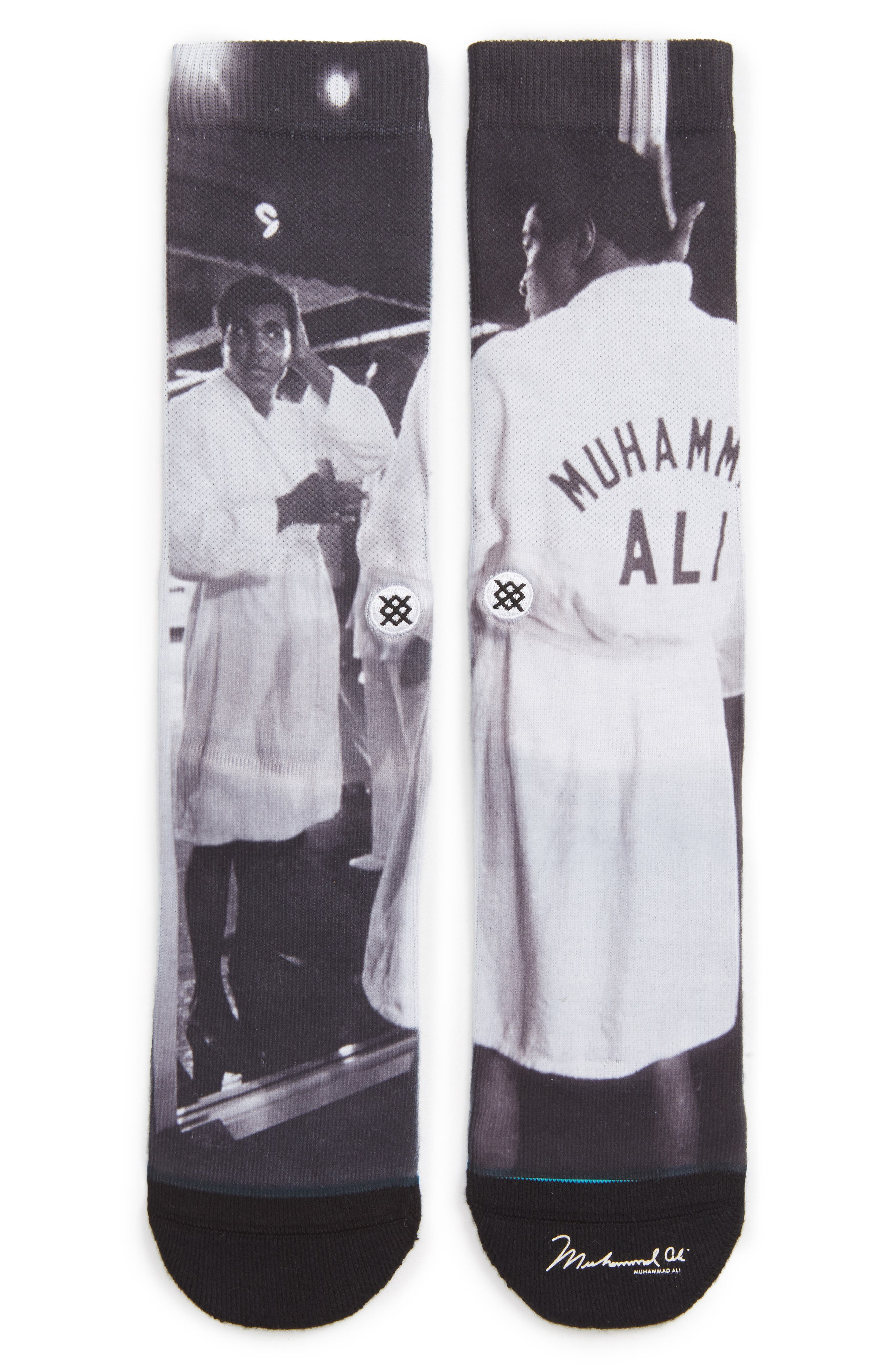 Stance Muhammad Ali Print Socks