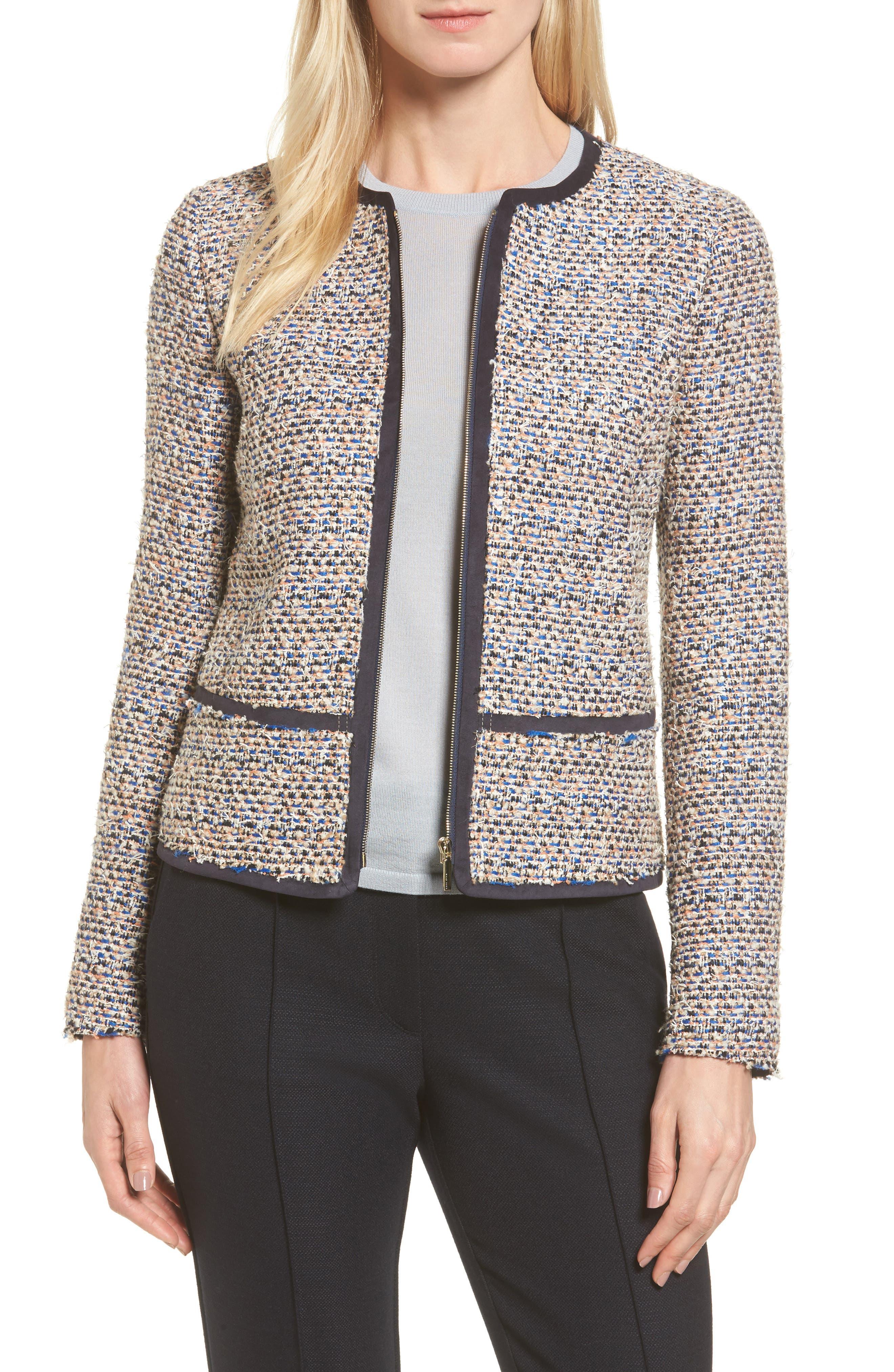 BOSS Koralie Tweed Jacket (Regular & Petite)