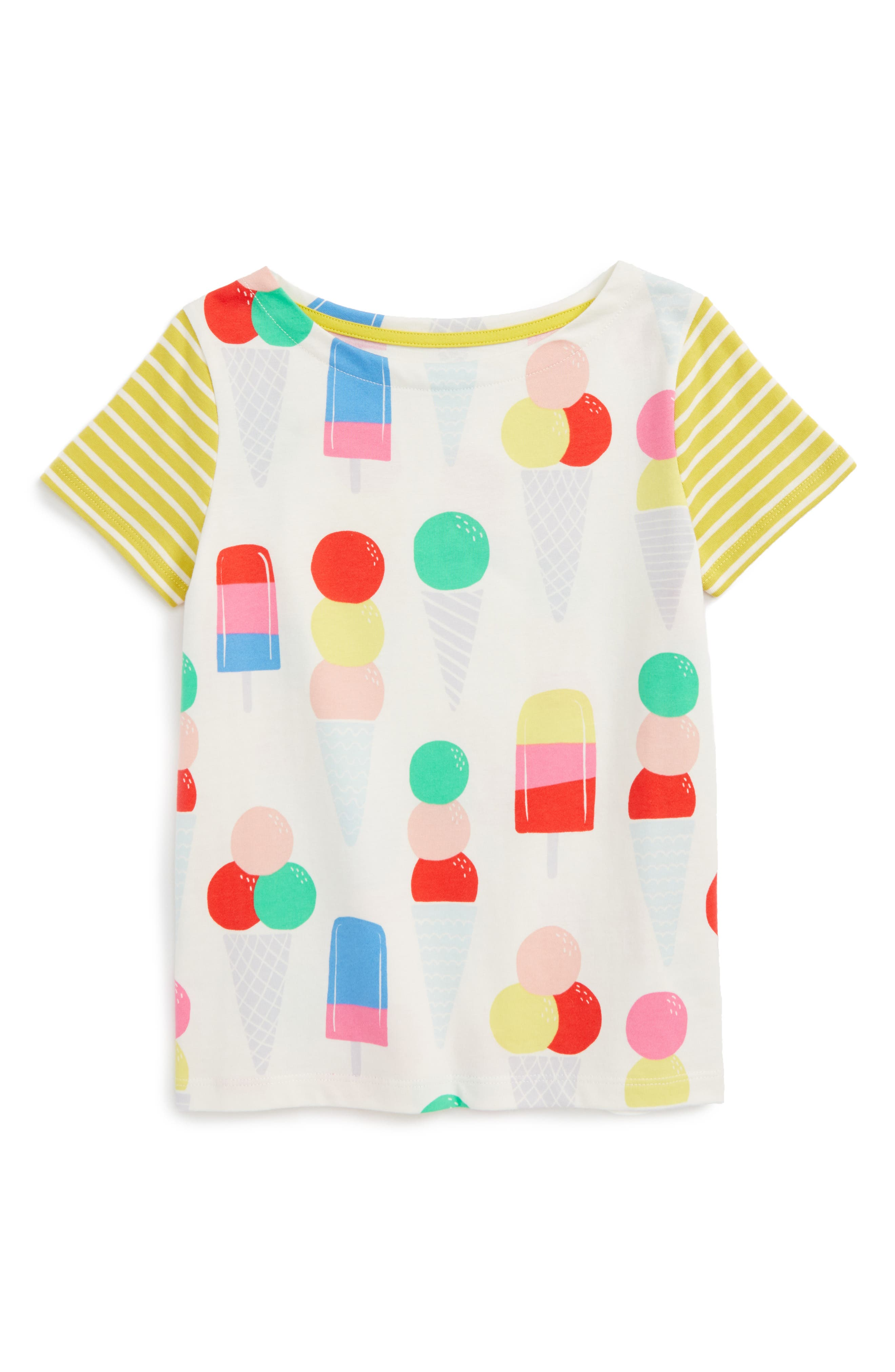 Mini Boden Holiday Hotchpotch Tee (Toddler Girls, Little Girls & Big Girls)