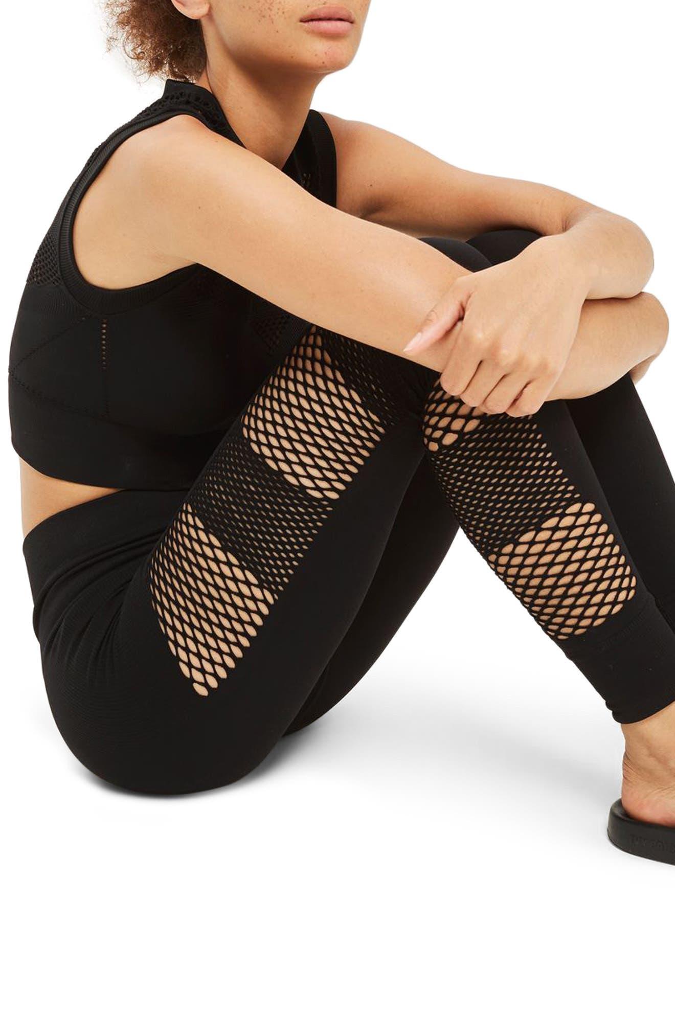 IVY PARK® Net Leggings