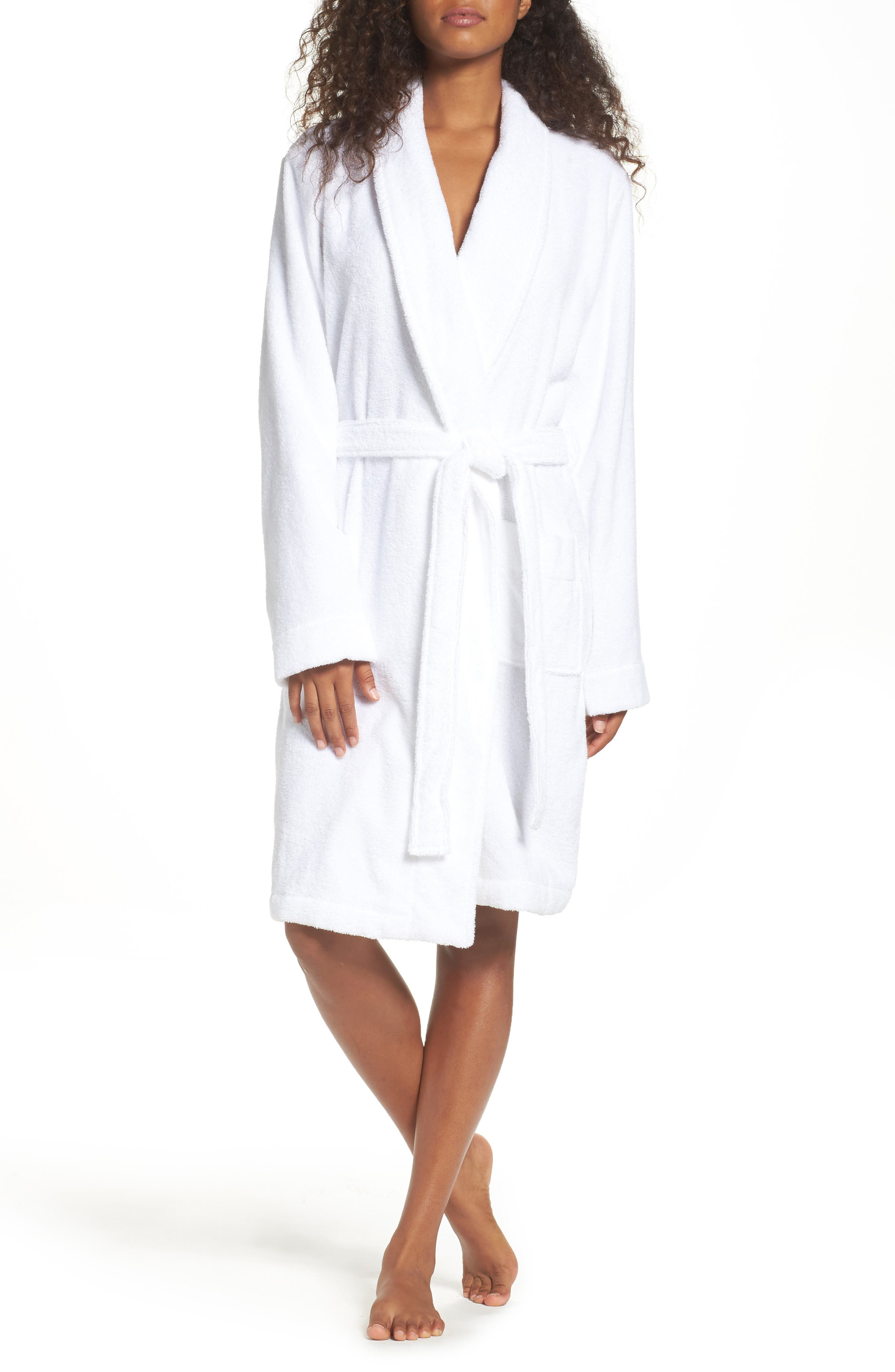 Alternate Image 1 Selected - Nordstrom Lingerie Terry Robe