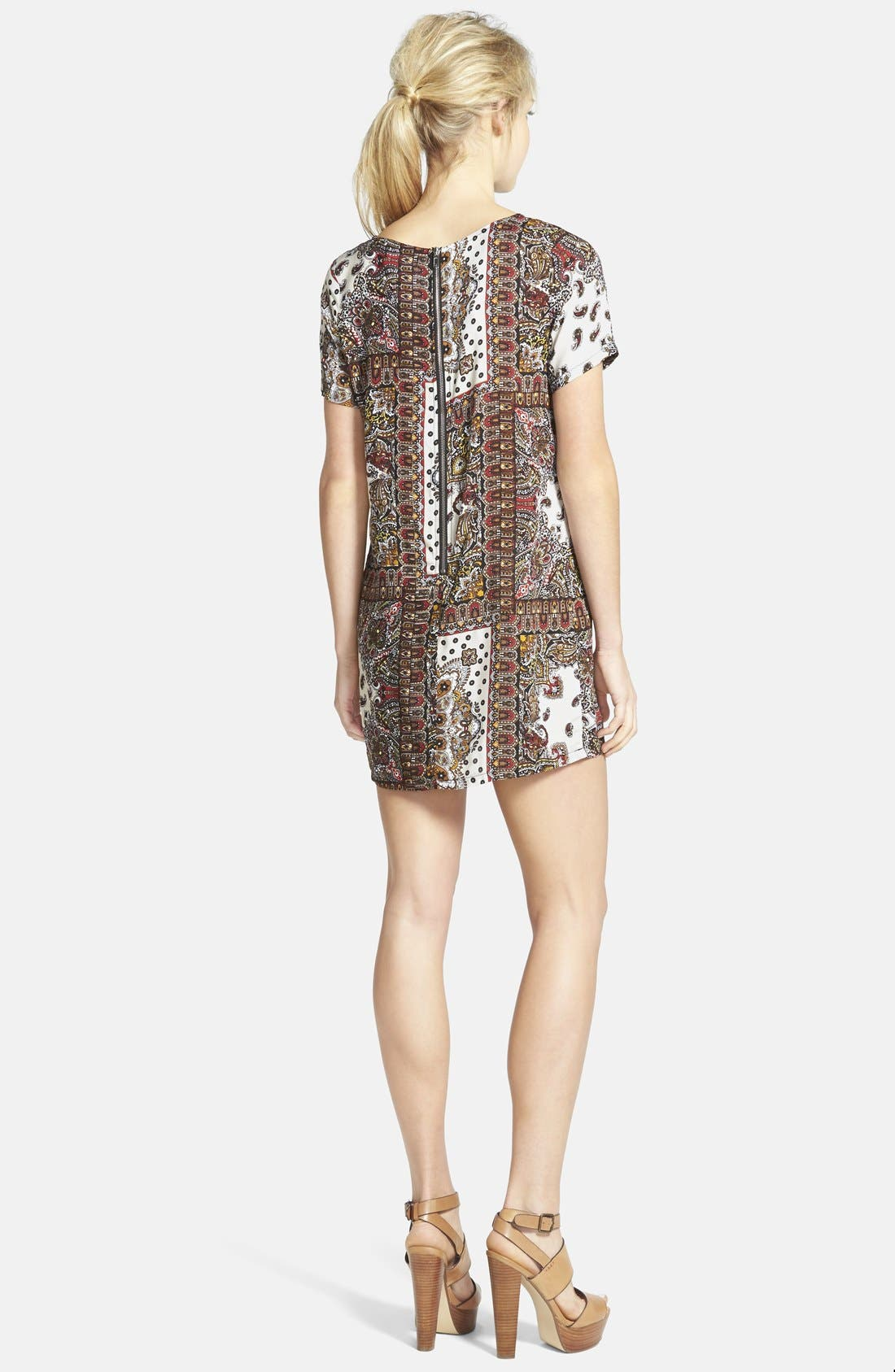 Alternate Image 2  - Glamorous Print Shift Tunic Dress