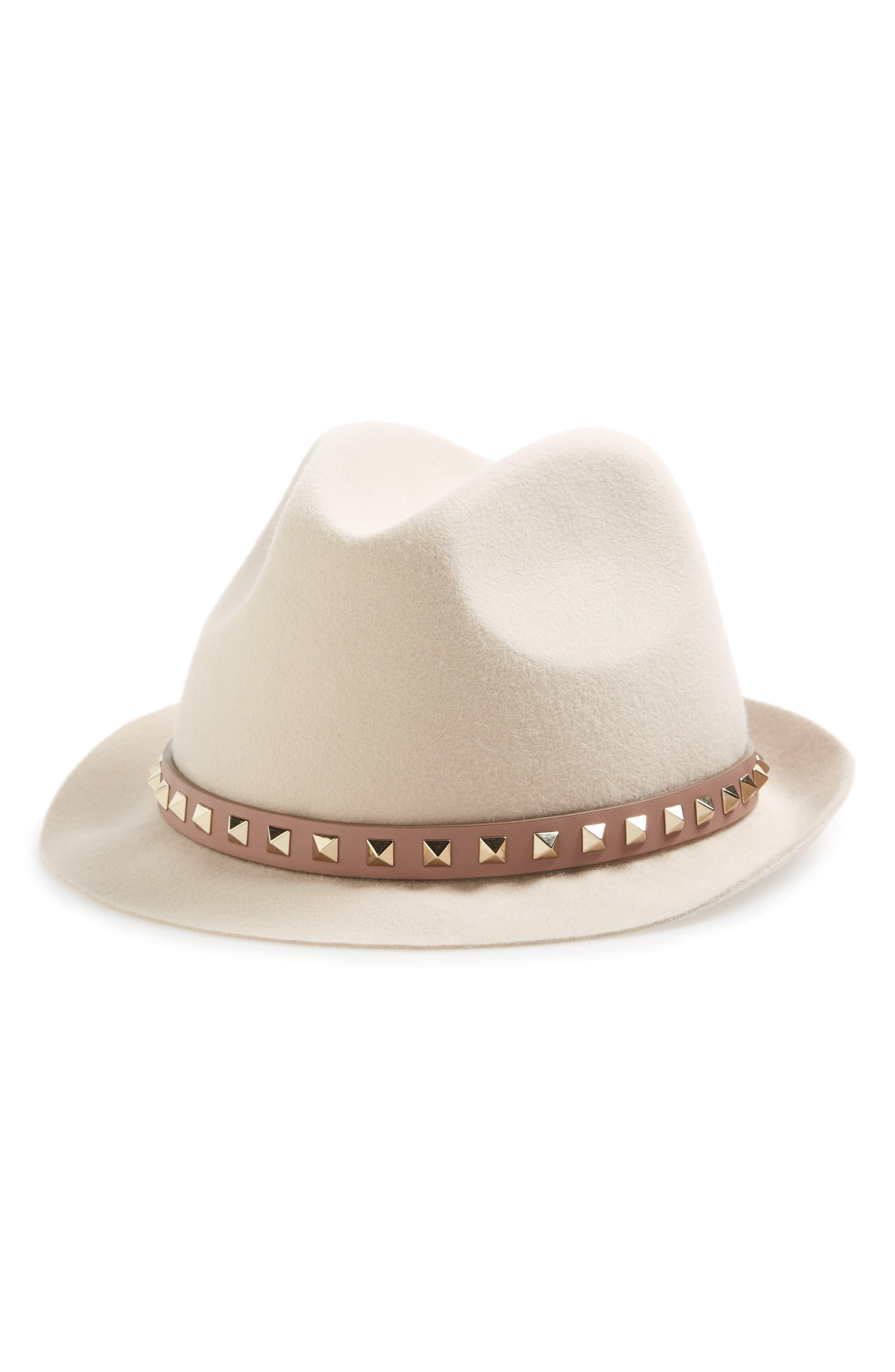 Valentino Fur Felt Hat