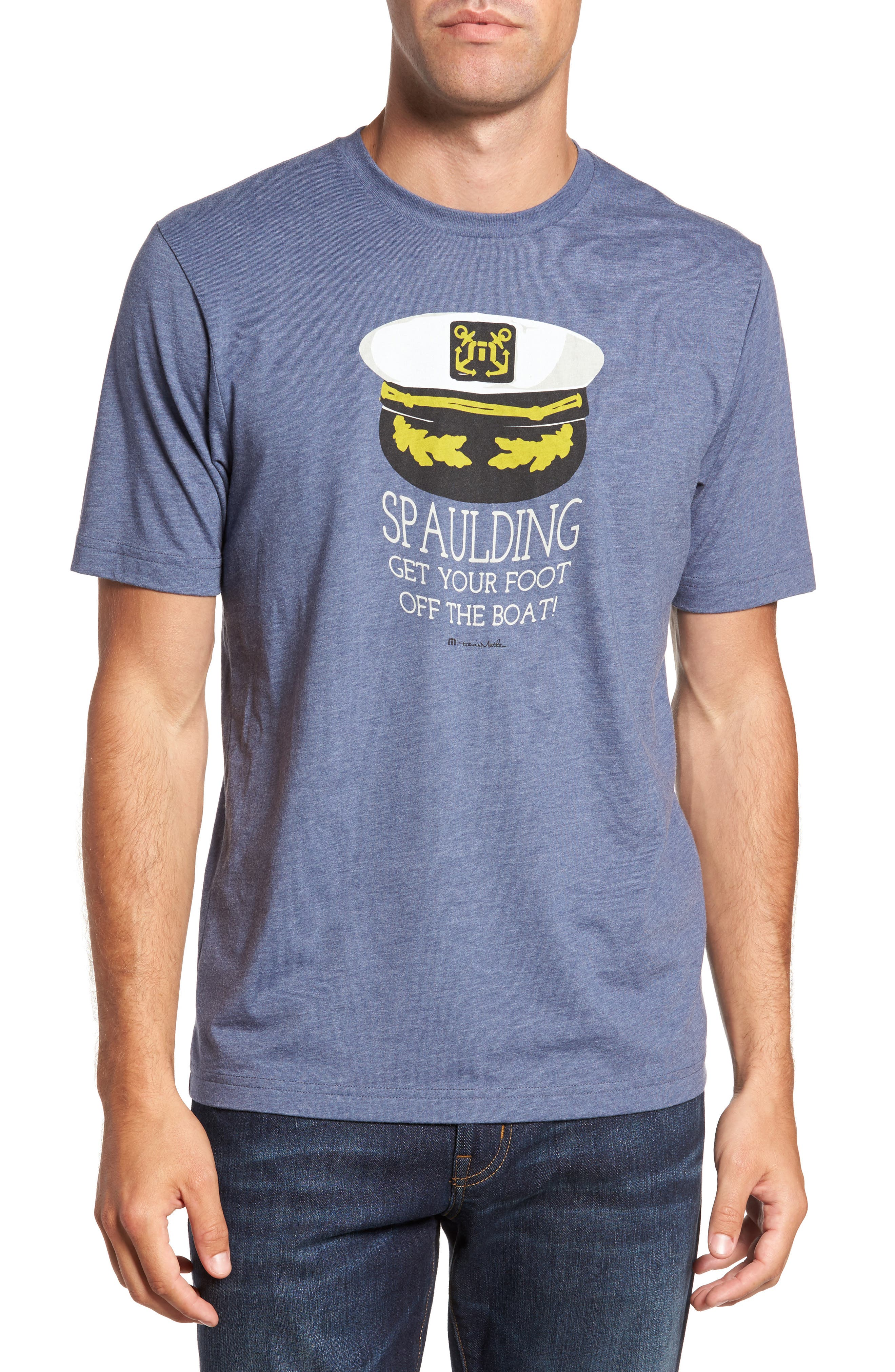Travis Mathew 'Spaulding' Graphic T-Shirt