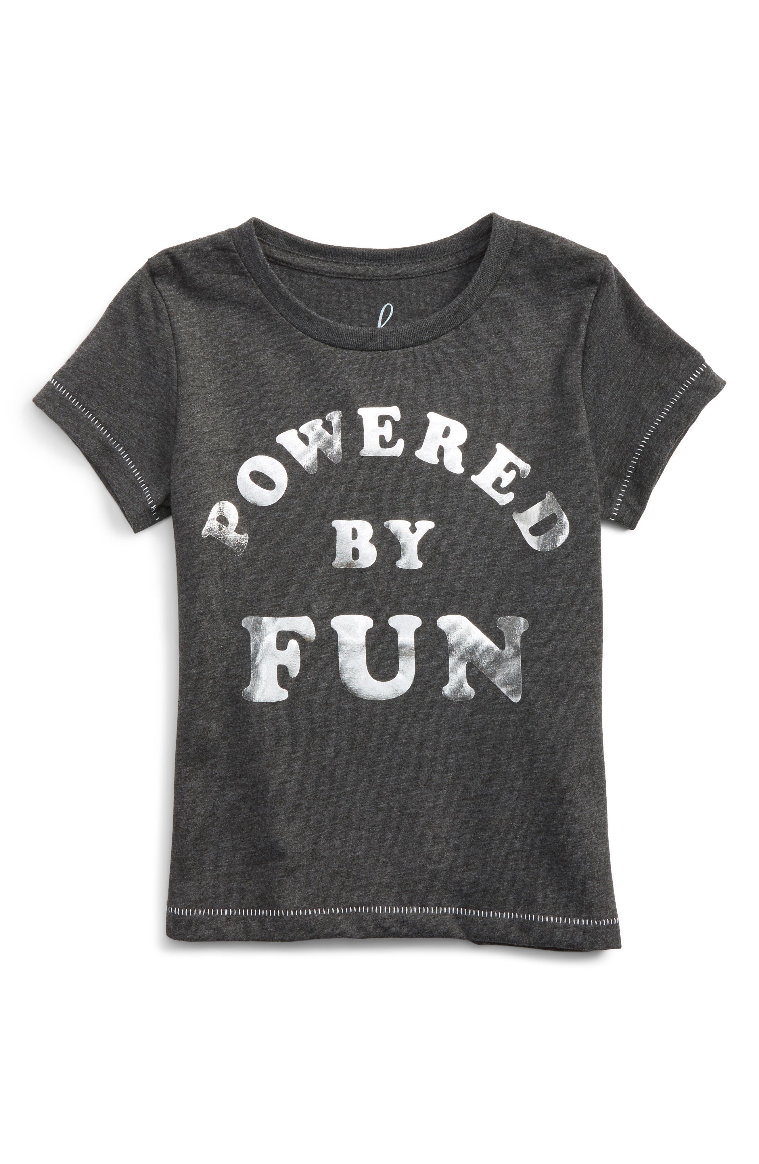 Peek Powered by Fun Tee (Toddler Girls, Little Girls & Big Girls)