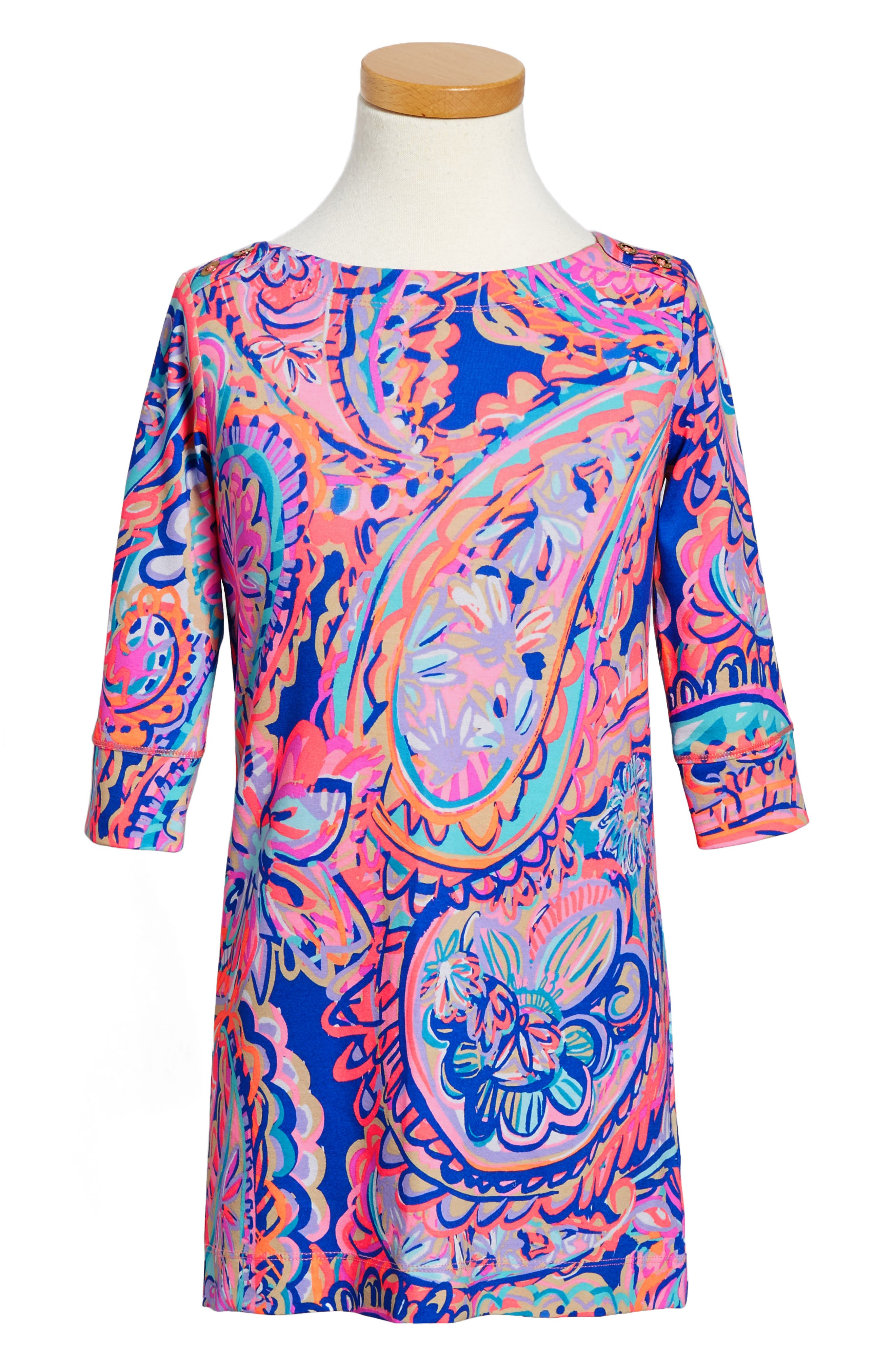 Lilly Pulitzer® Mini Sophie UPF 50+ Dress (Little Girls & Big Girls)