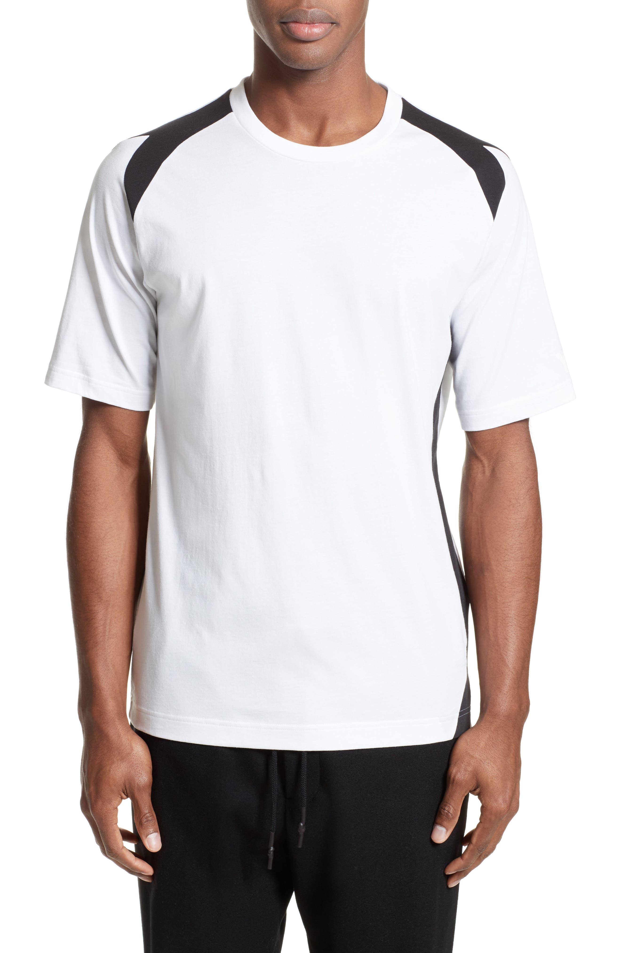 Y-3 Stripe Panel T-Shirt