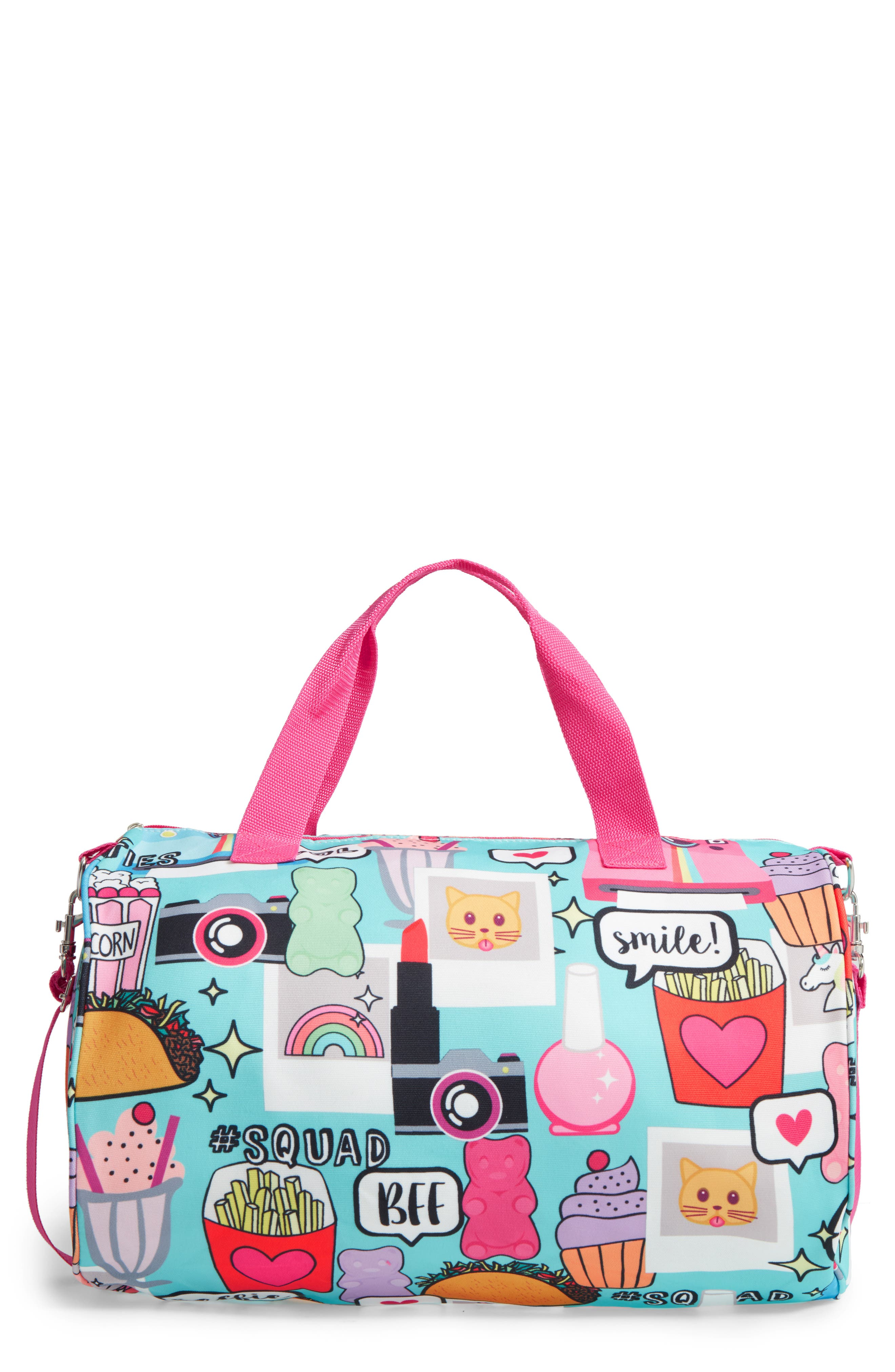 Capelli Camera Print Duffel Bag (Girls)