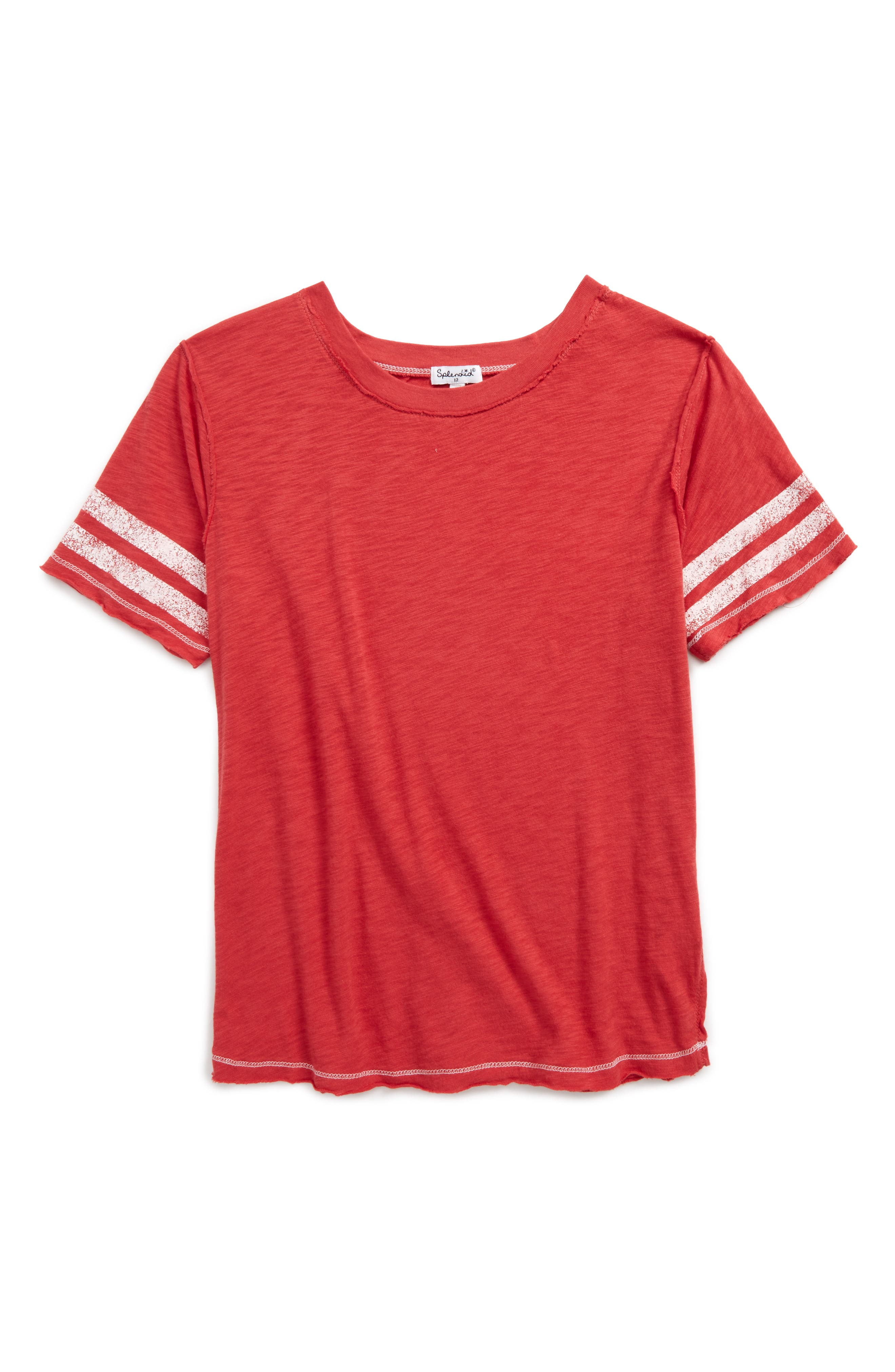 Splendid Football Tee (Big Girls)
