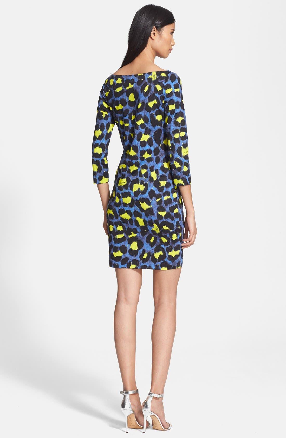 Alternate Image 2  - Just Cavalli Leopard Print Jersey Dress