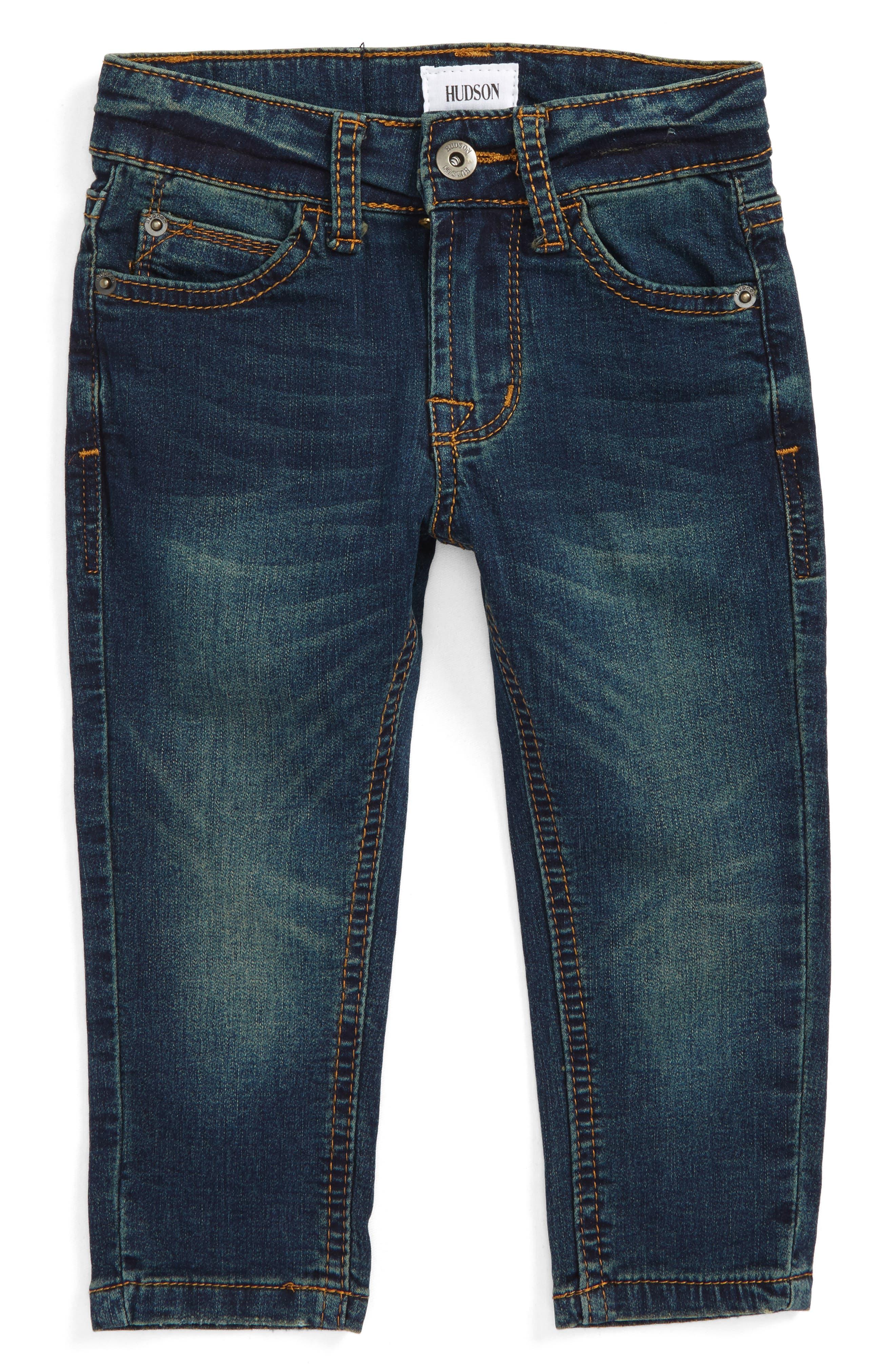 Hudson Kids Jagger Slim Straight Leg Jeans (Baby Boys)