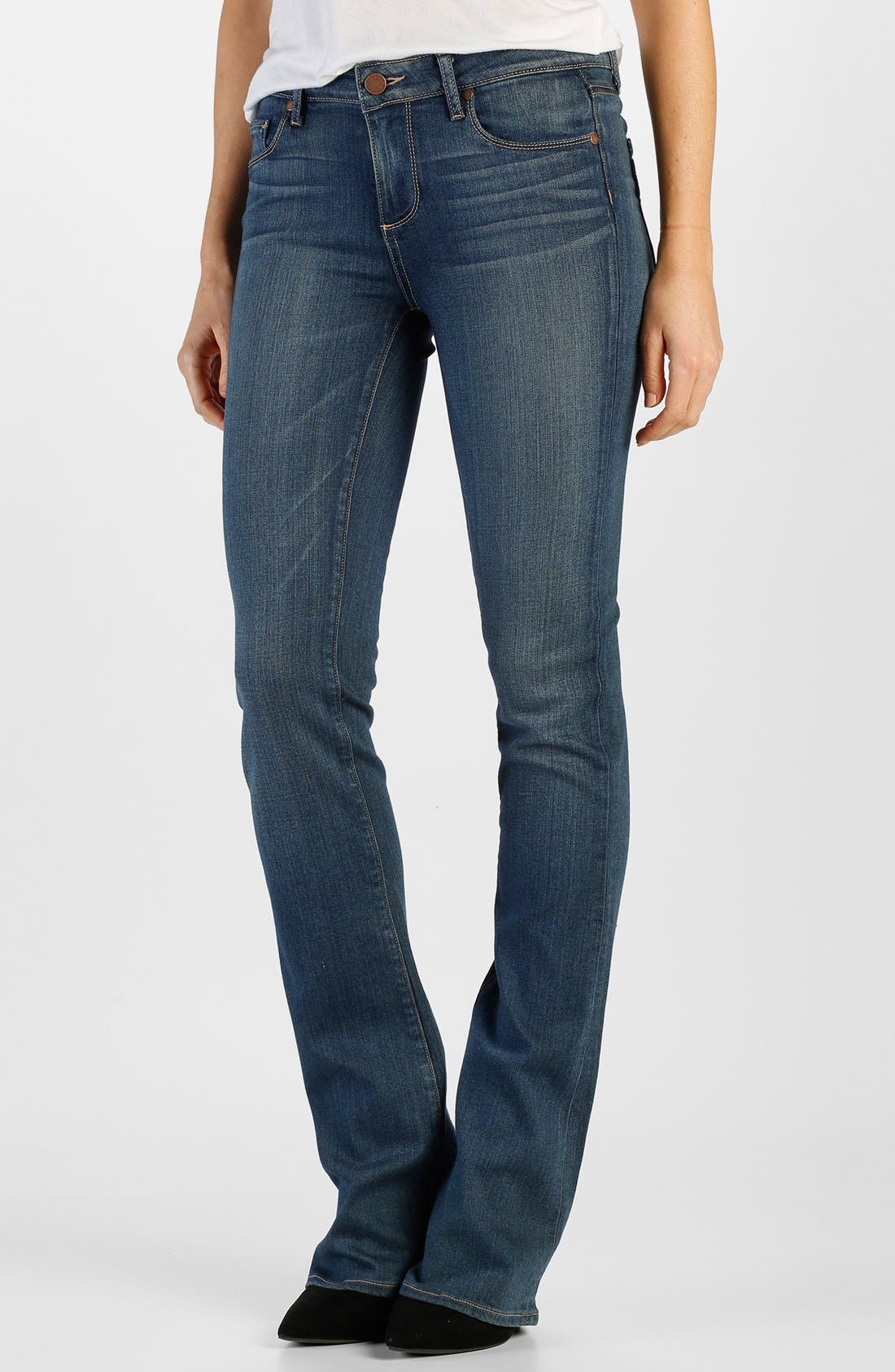 Main Image - Paige Denim 'Manhattan' Bootcut Jeans (Lex)