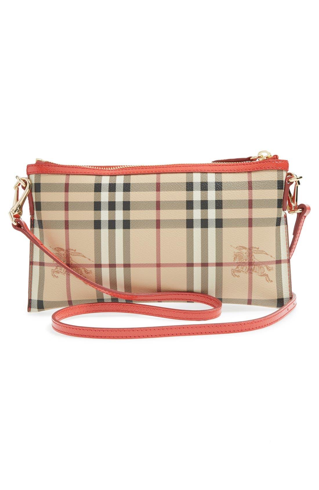 Alternate Image 3  - Burberry 'Peyton - Haymarket Check' Crossbody Bag