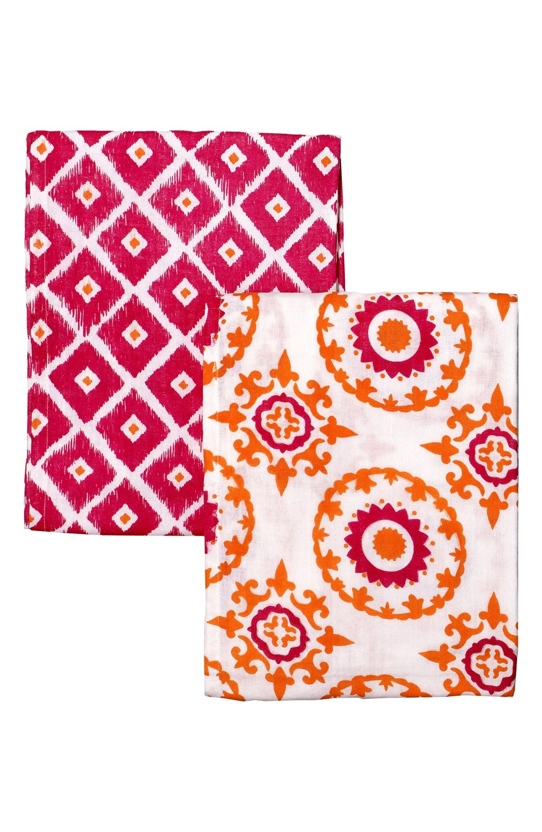 Alternate Image 1 Selected - Masalababy Double Weave Cotton Muslin Swaddle Wraps (2-Pack)