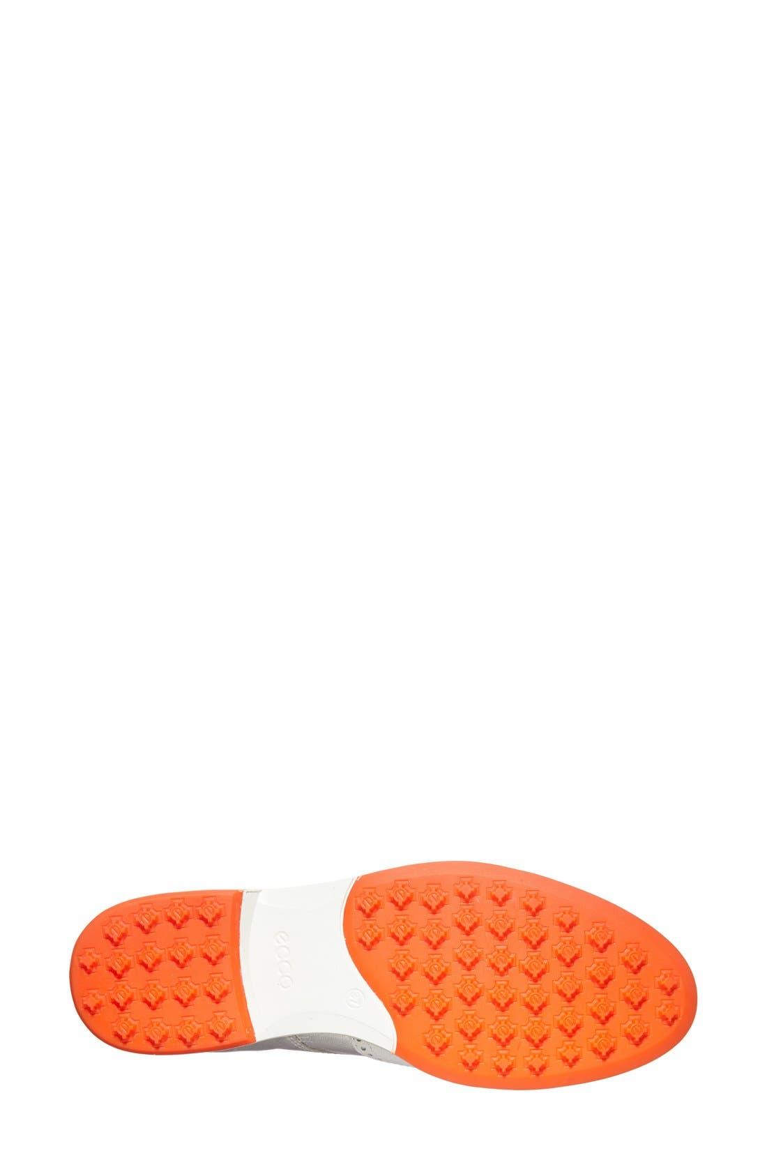 Alternate Image 4  - ECCO 'Tour' Hybrid Wingtip Golf Shoe (Women)