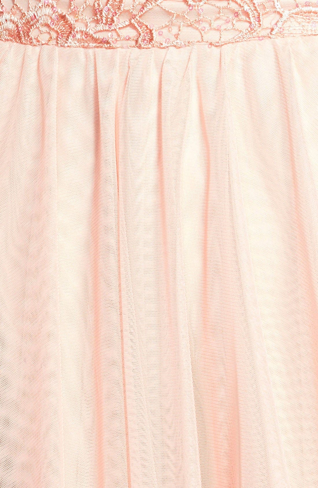 Alternate Image 3  - As U Wish 'Rosie' Two-Piece Lace Dress (Juniors)