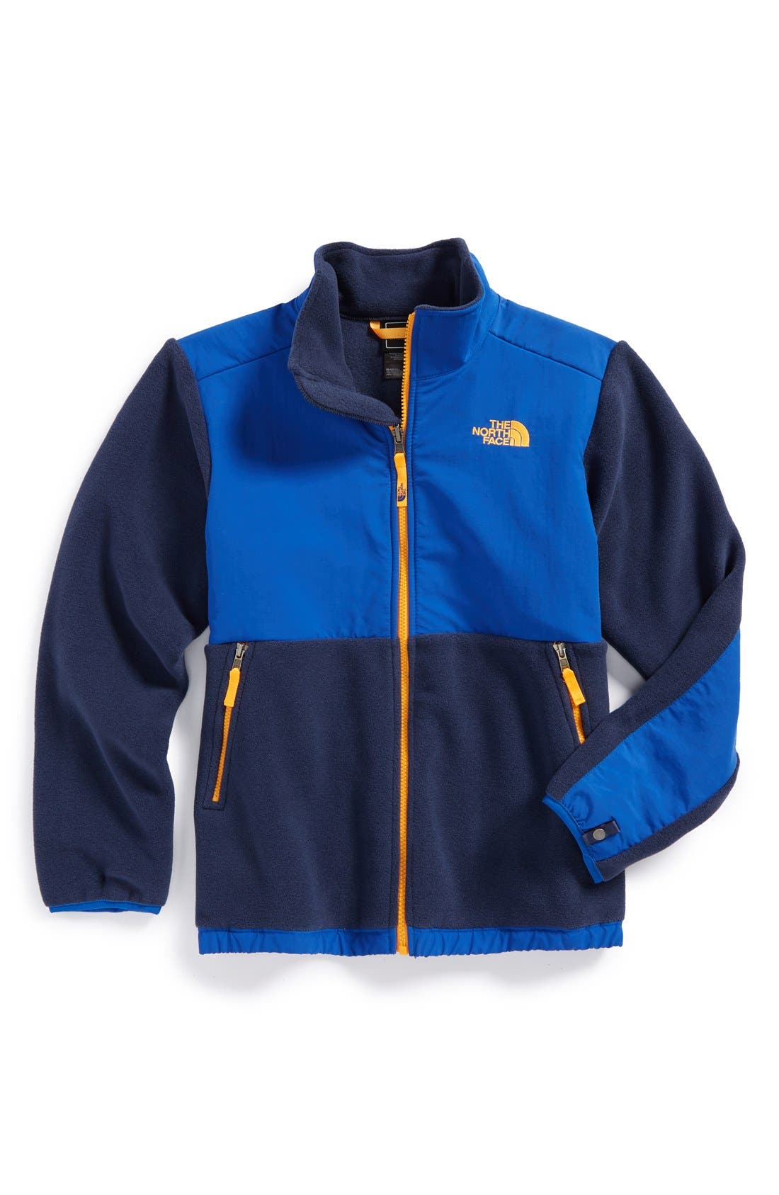 Main Image - The North Face 'Denali' Recycled Fleece Jacket (Big Boys)