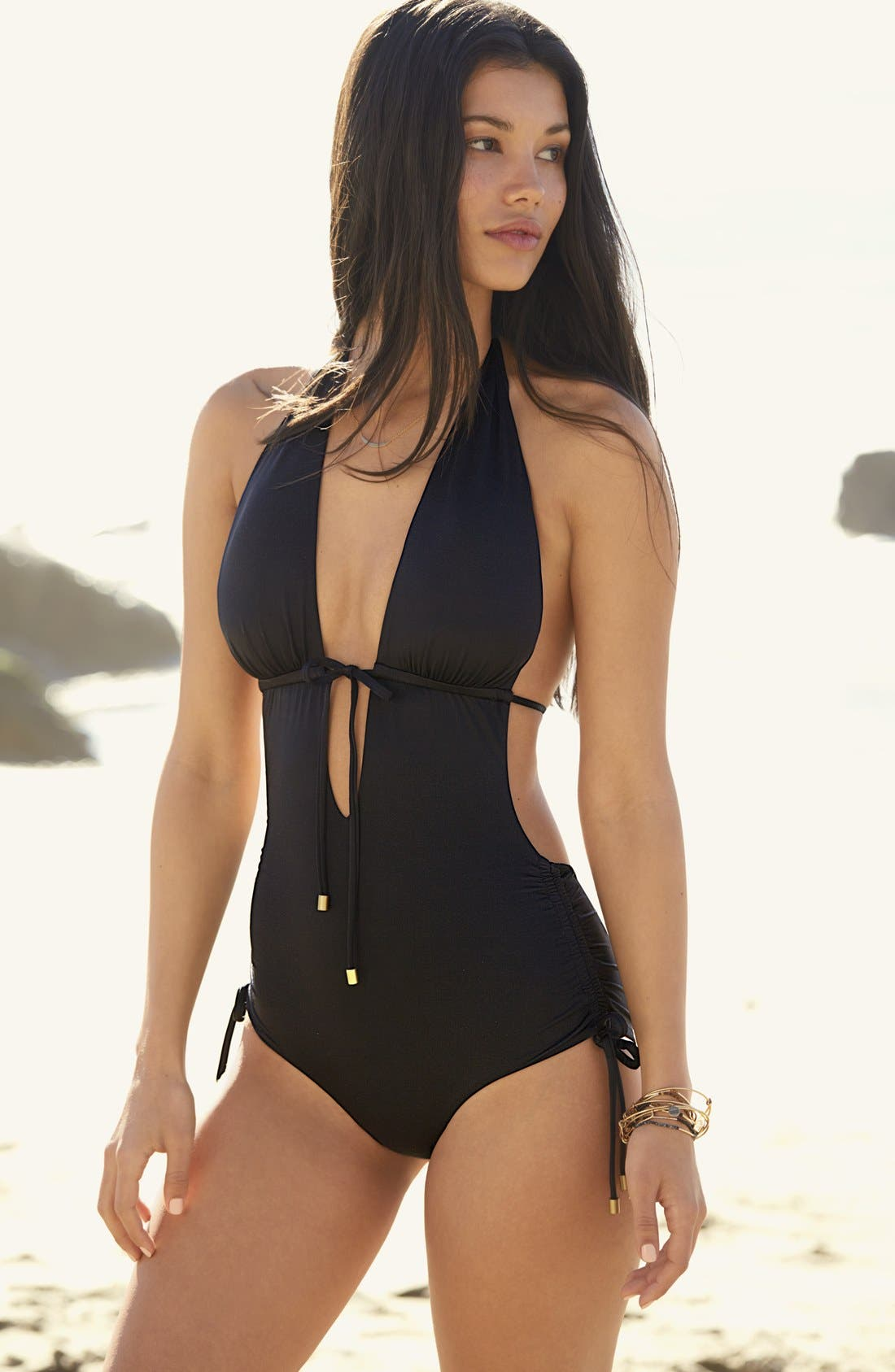 Alternate Image 3  - Vitamin A® Brena One-Piece Swimsuit