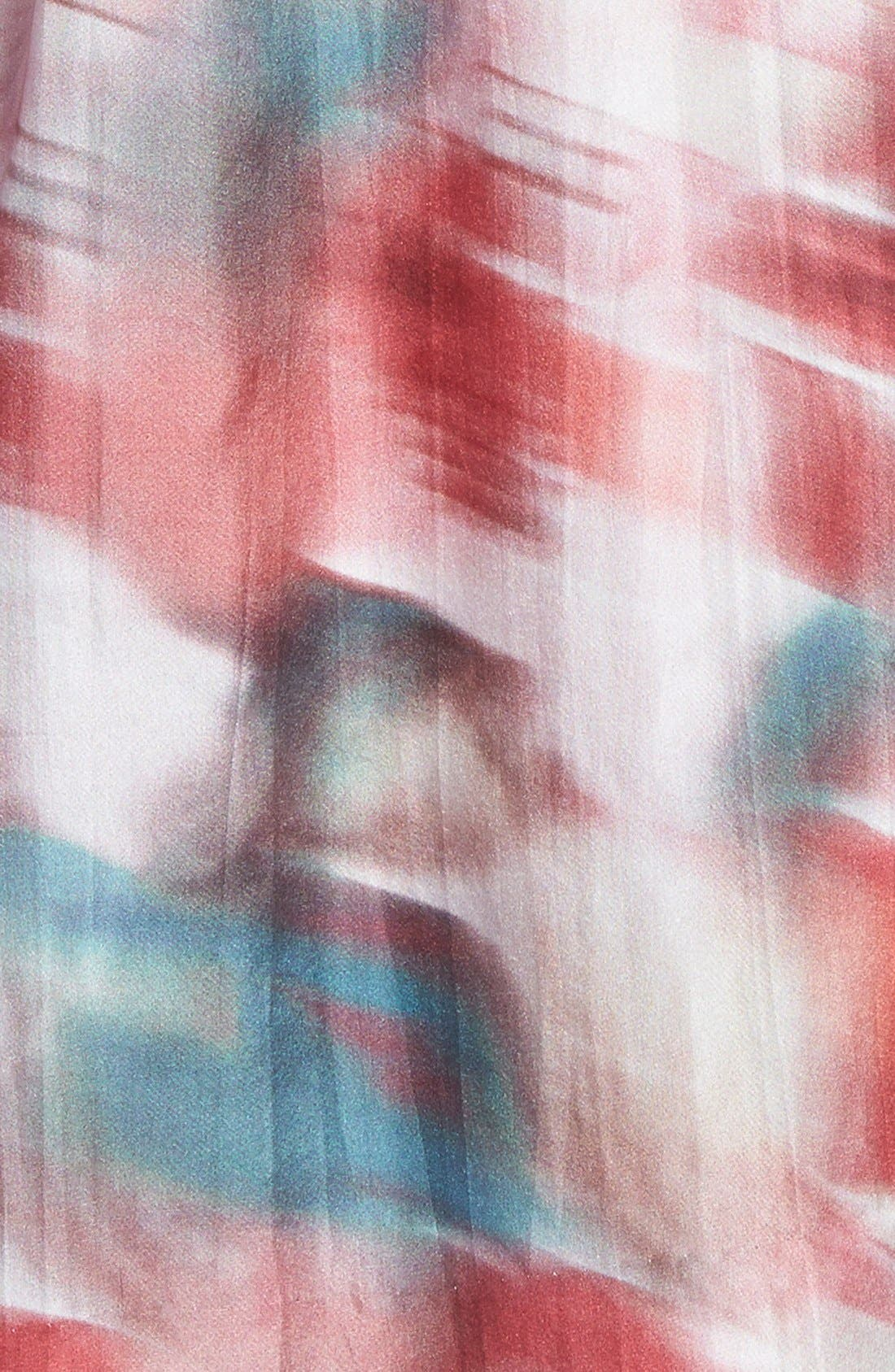 Alternate Image 3  - Classiques Entier® Print Silk Habotai Fit & Flare Dress