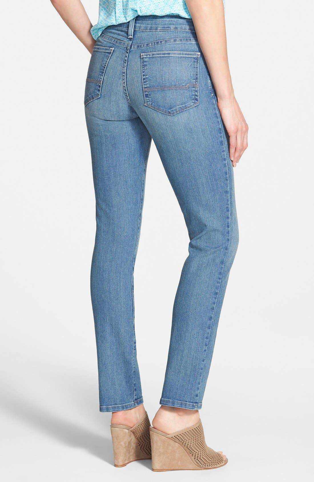 Alternate Image 2  - NYDJ 'Sheri' Stretch Skinny Jeans (Palmdale)